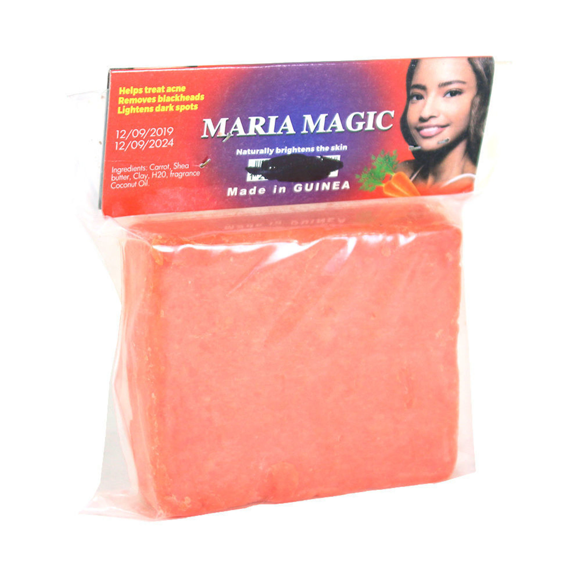 Picture of Guinean Carrot Shea Butter Soap