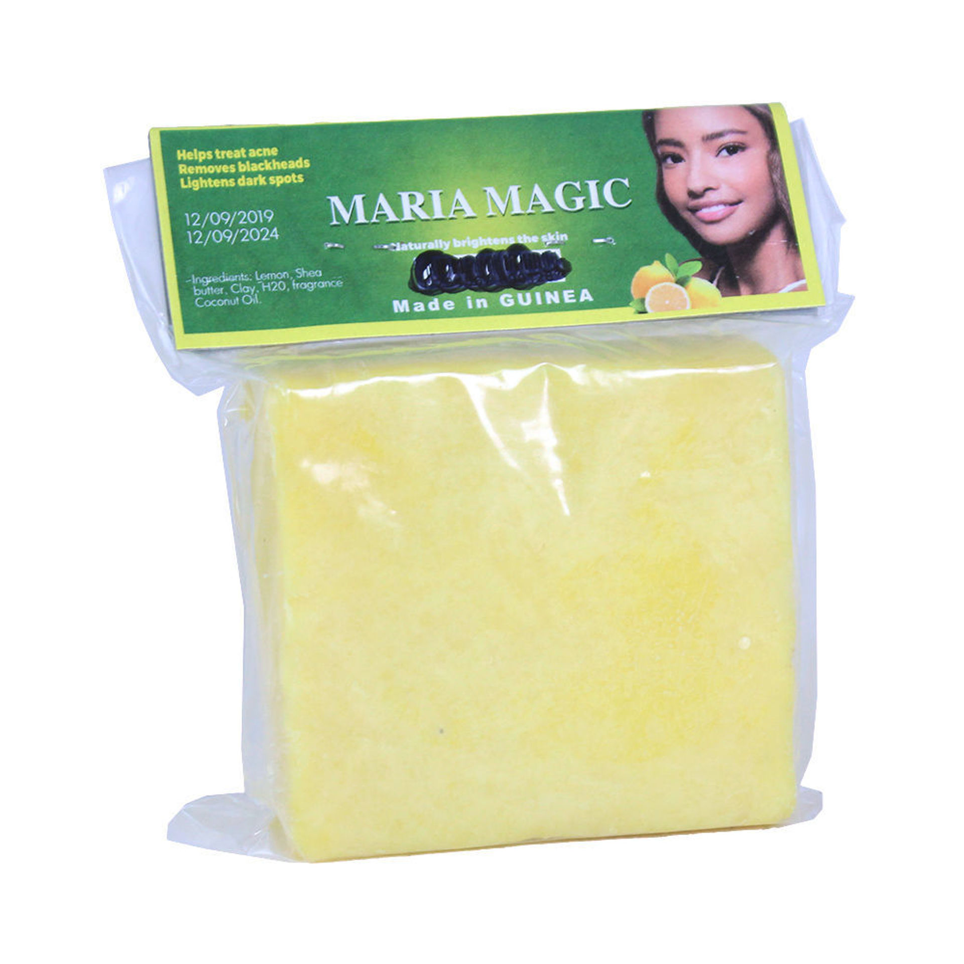Picture of Guinean Lemon Shea Butter Soap