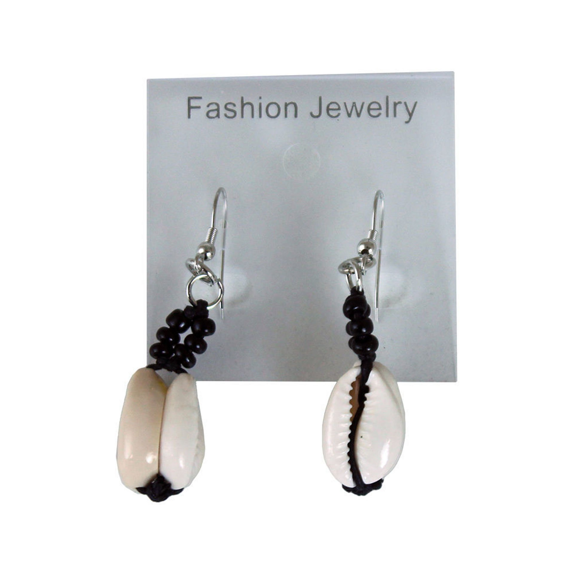 Picture of Set Of 12 Double Cowrie Shell Earrings