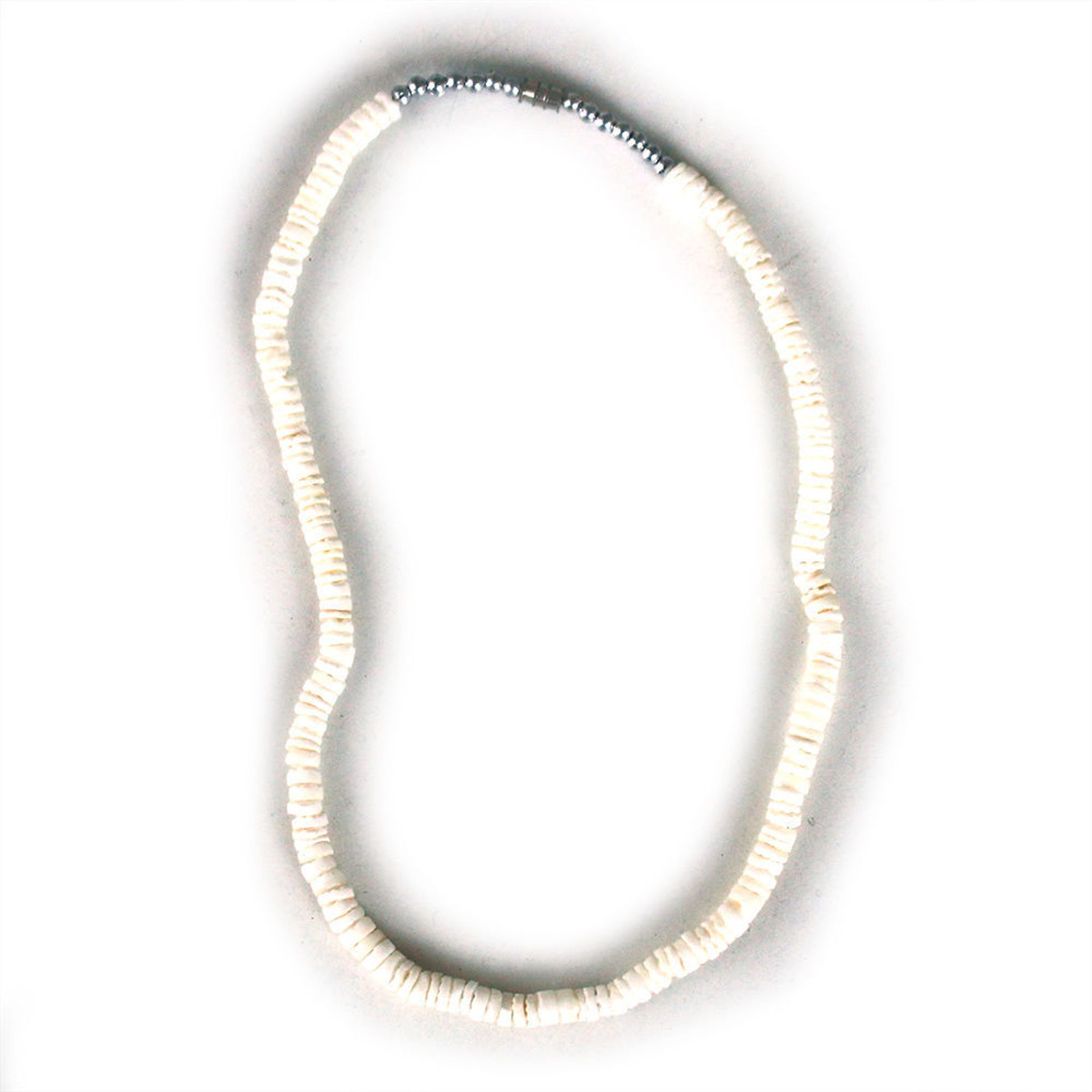 Picture of Set Of 12 White Shell  Necklaces