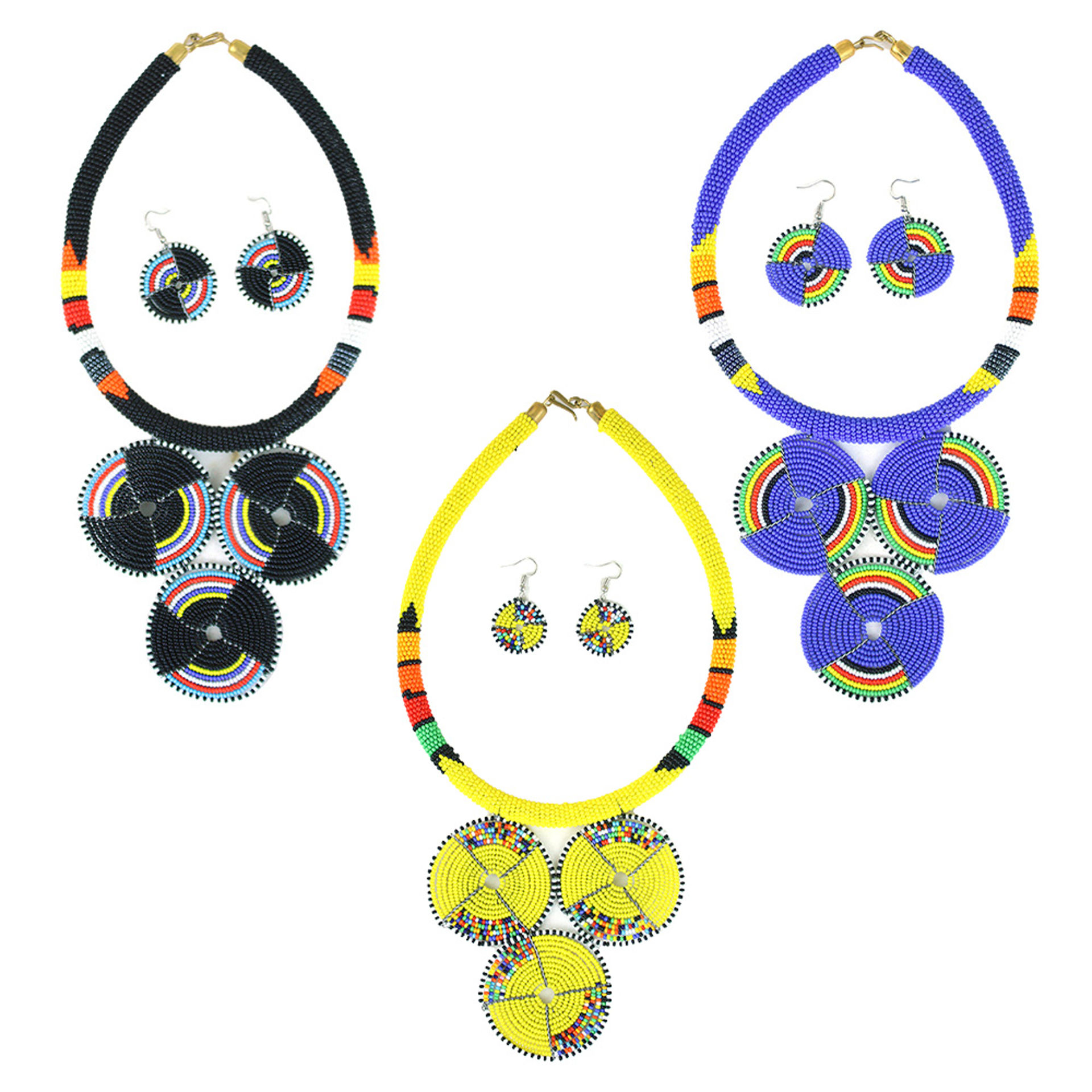 Picture of Maasai Queen Necklace Set