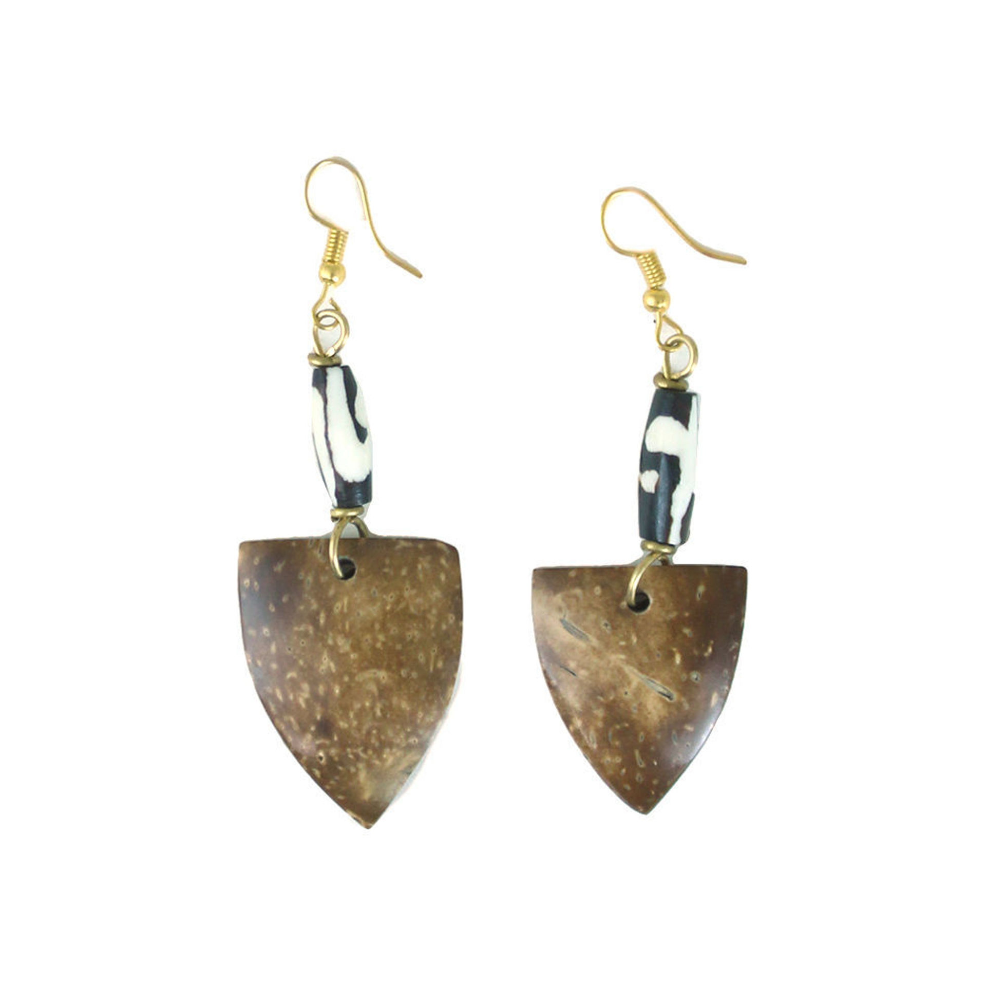 Picture of Kenyan Coconut Shell Earrings