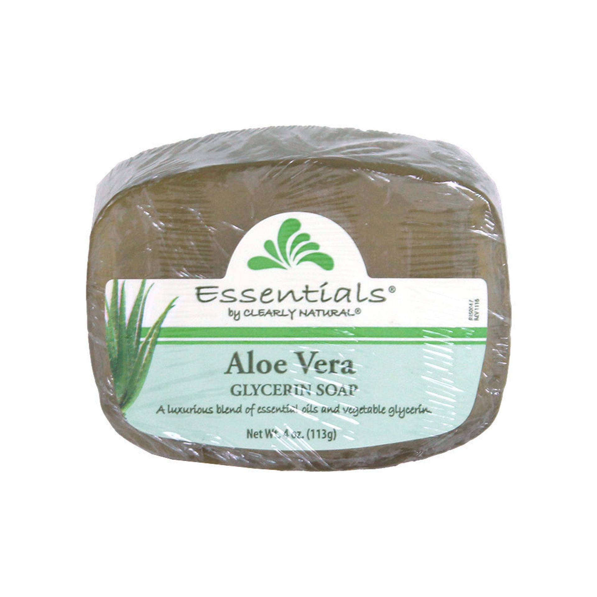 Picture of Clearly Natural Aloe Vera Soap - 4 oz.