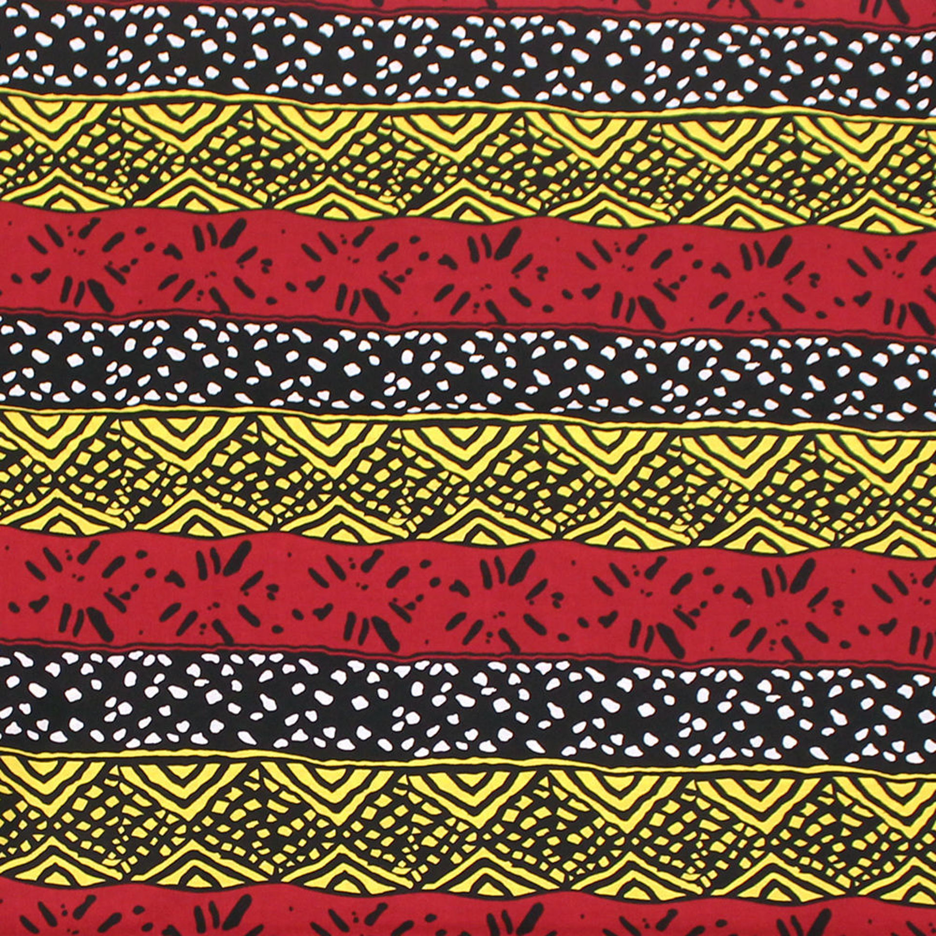 Picture of Multi-Strip Mud Print Fabric: 12 Yards