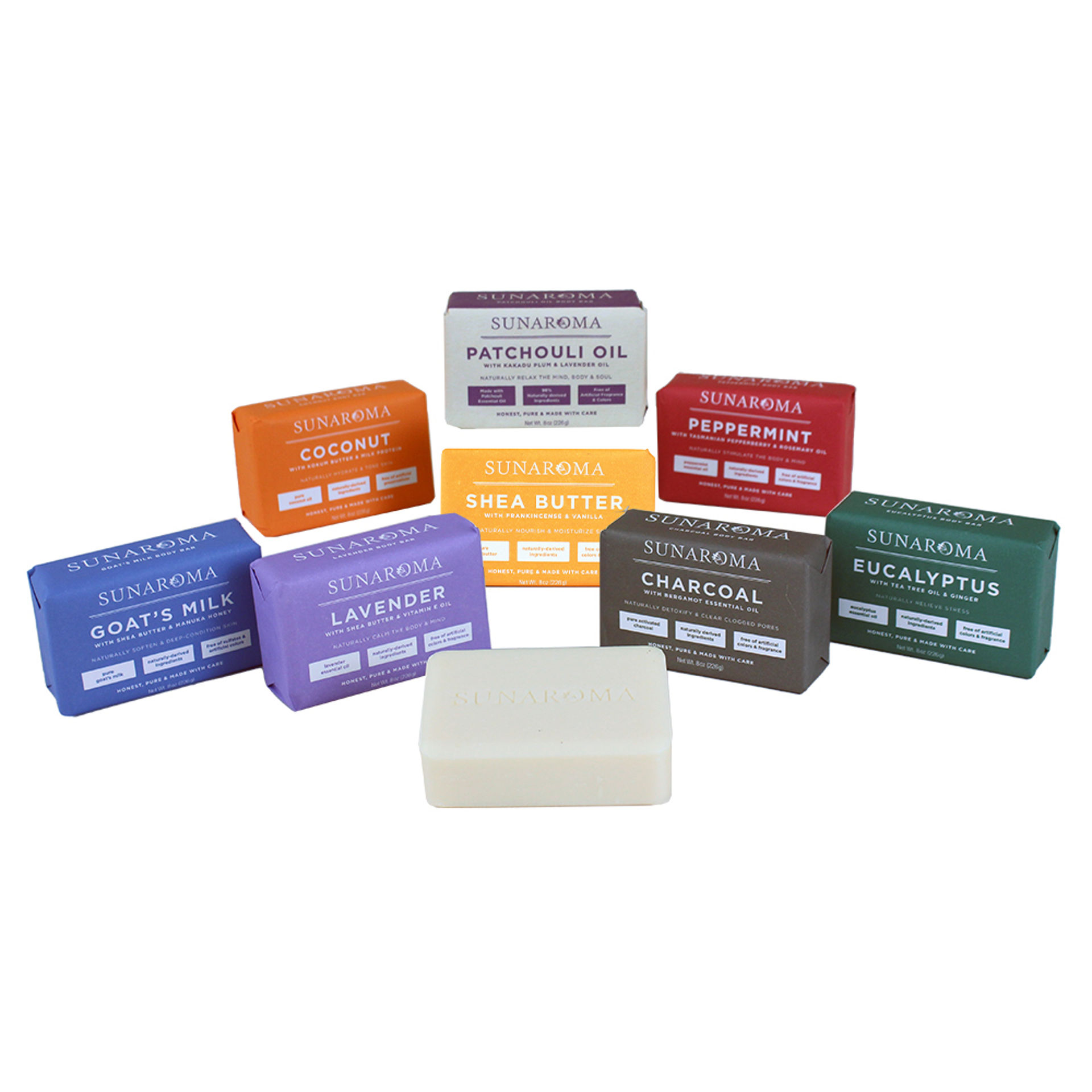 Picture of Set Of 8 Soaps