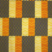 Picture of Yellow/Gold/Blue African Print Fabric