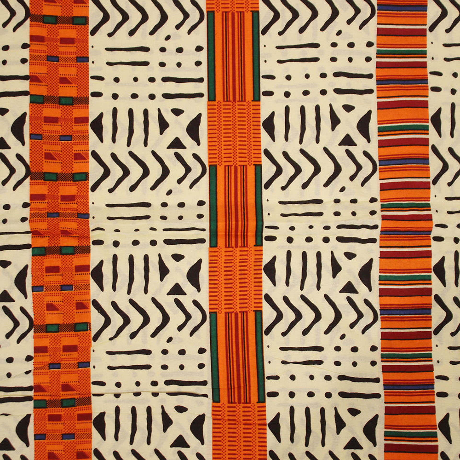 Picture of Kente/Mud-Strip: African Print Fabric