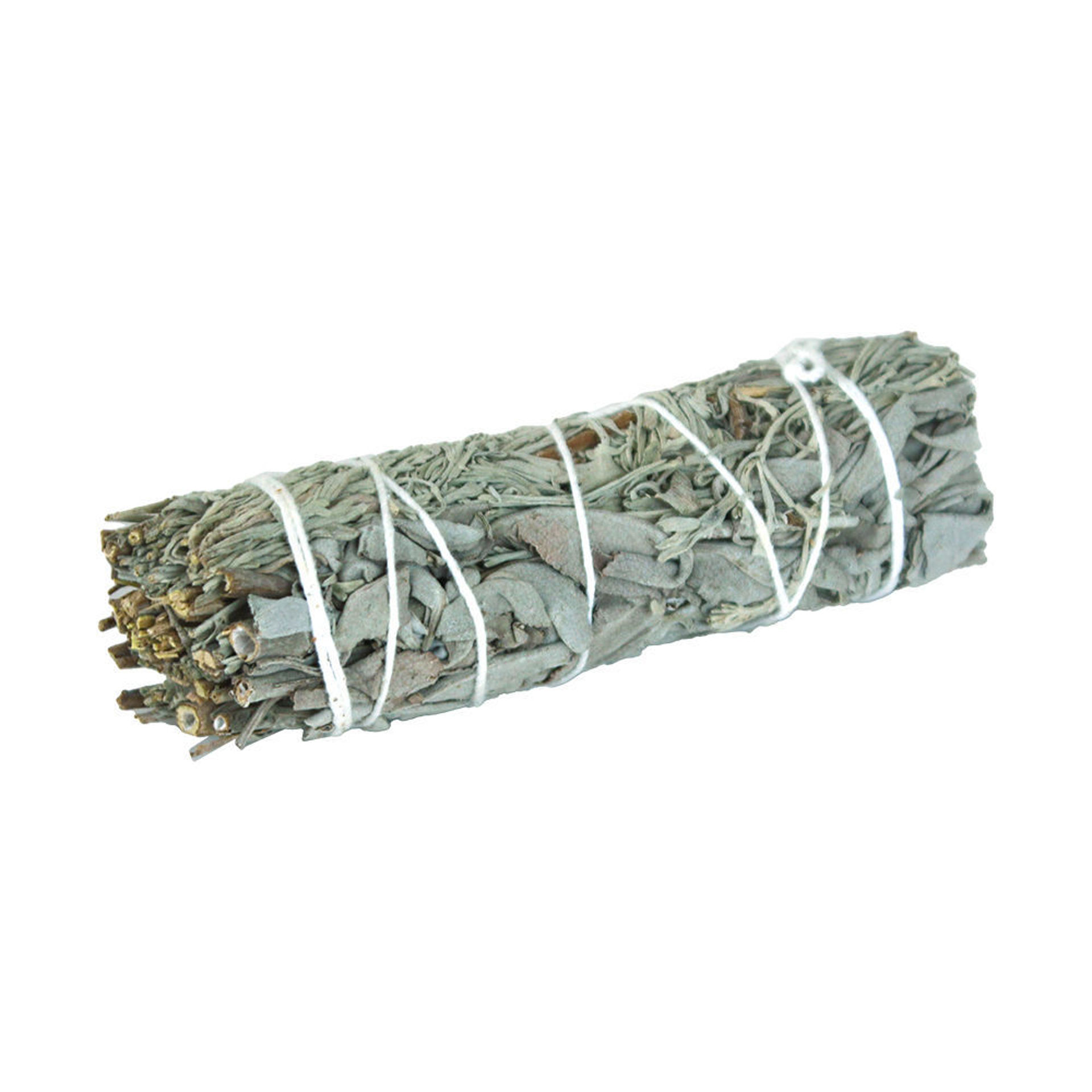Picture of White Sage & Blue Sage Smudge Stick