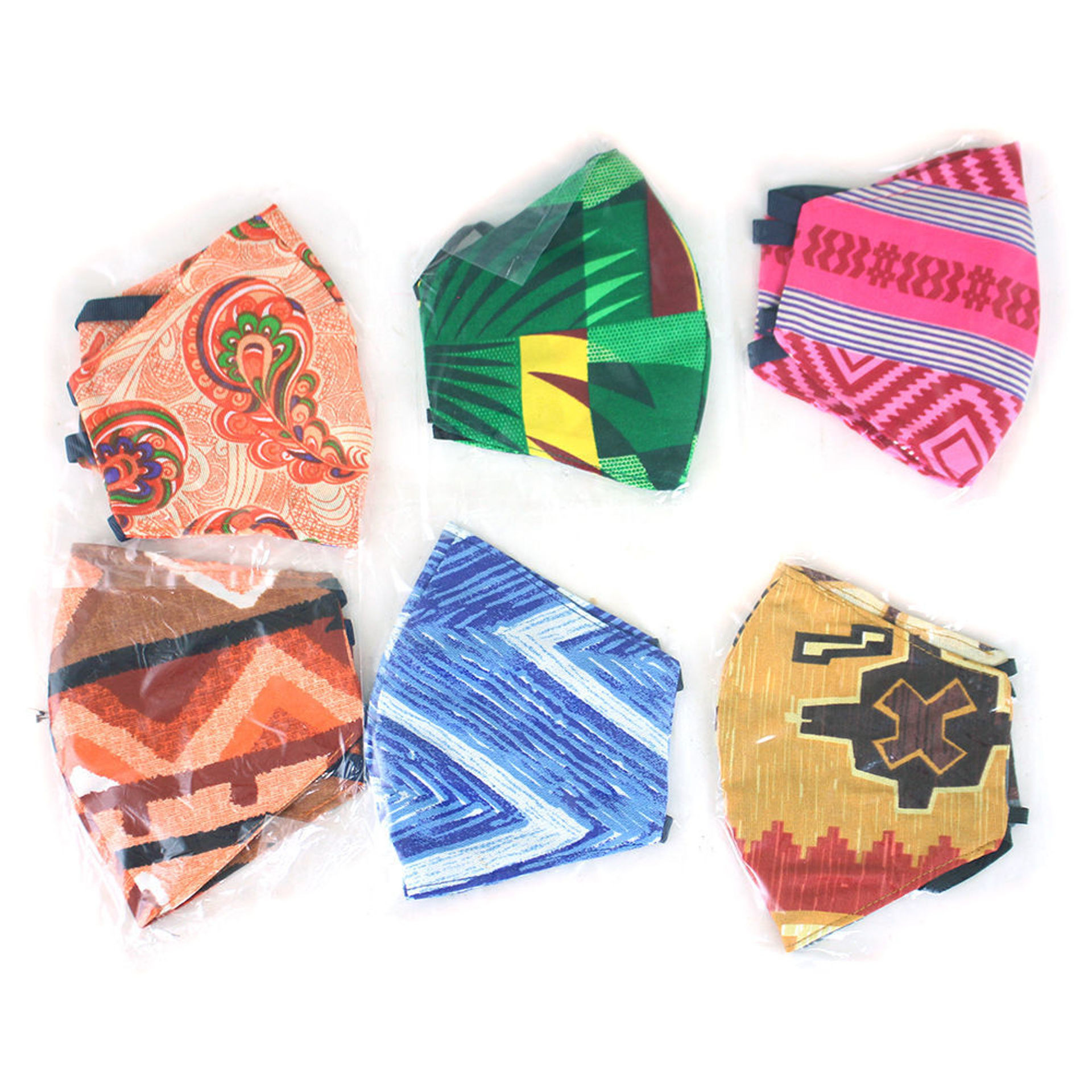 Picture of Set Of 6 Philippines Ear-Loop  Masks