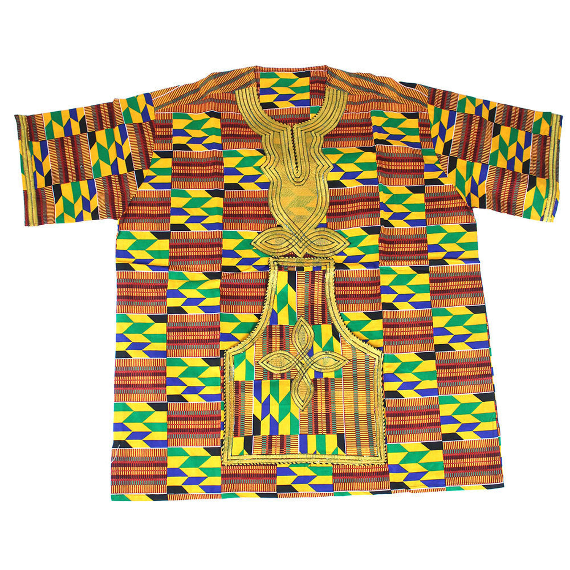 Picture of Luxurious Embroidered Kente Dashiki