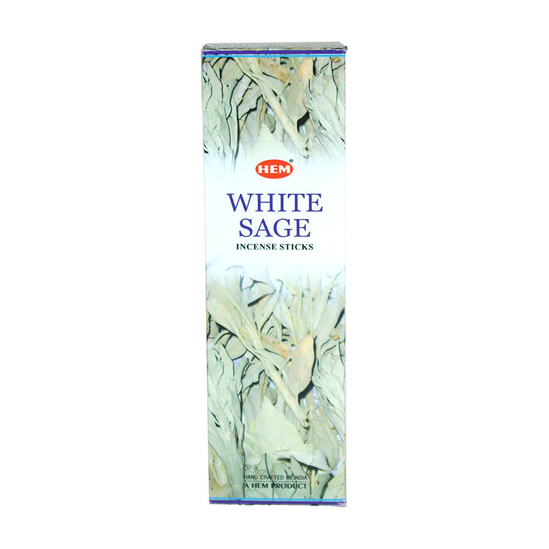 Picture of White Sage Incense: 25 Pack = 200 Sticks