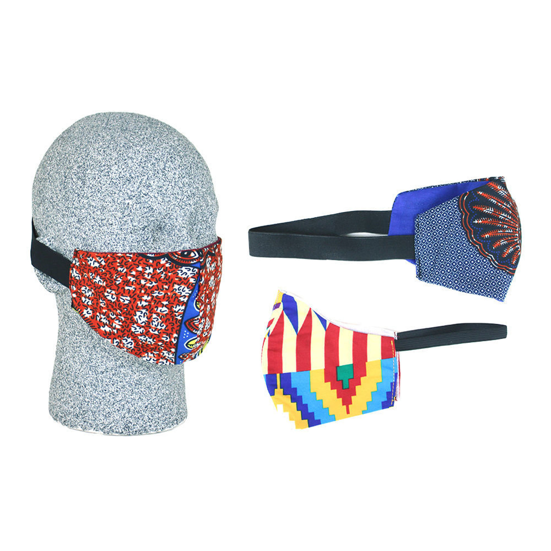 Picture of Set Of 3 Face Mask Headbands