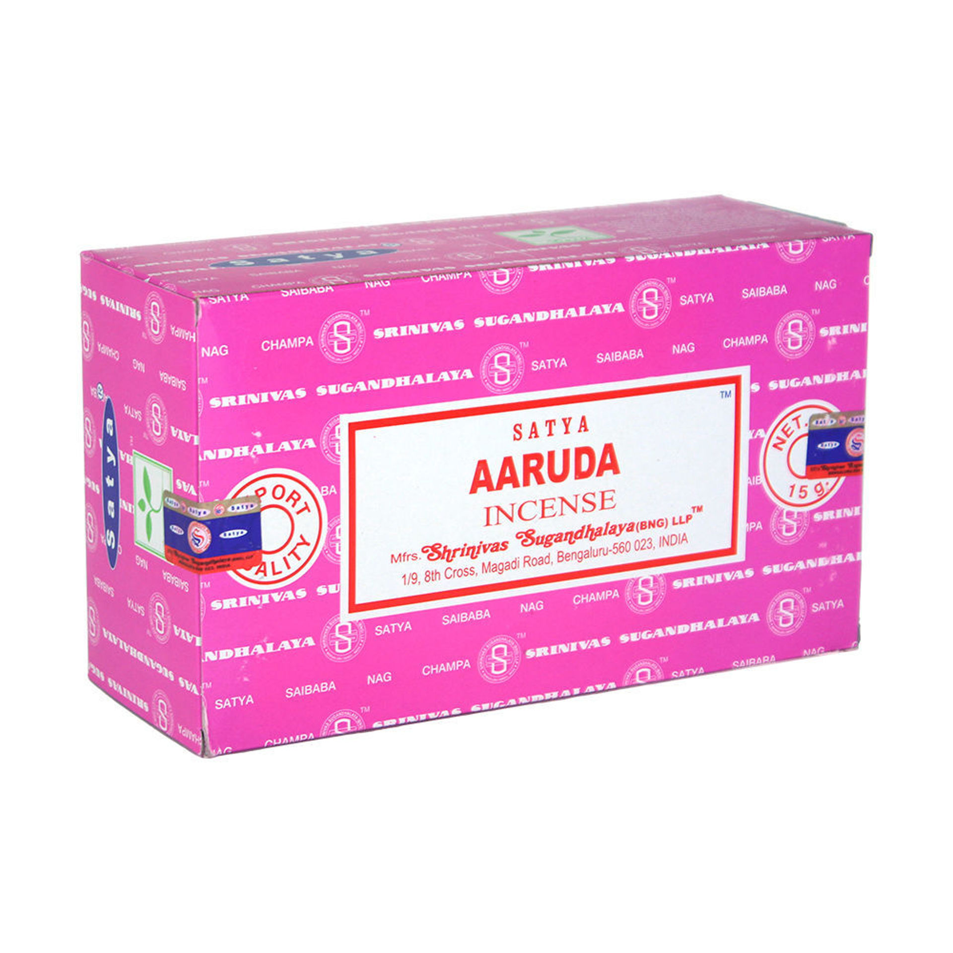 Picture of Aaruda Incense - 15 g (12-Pack Box)