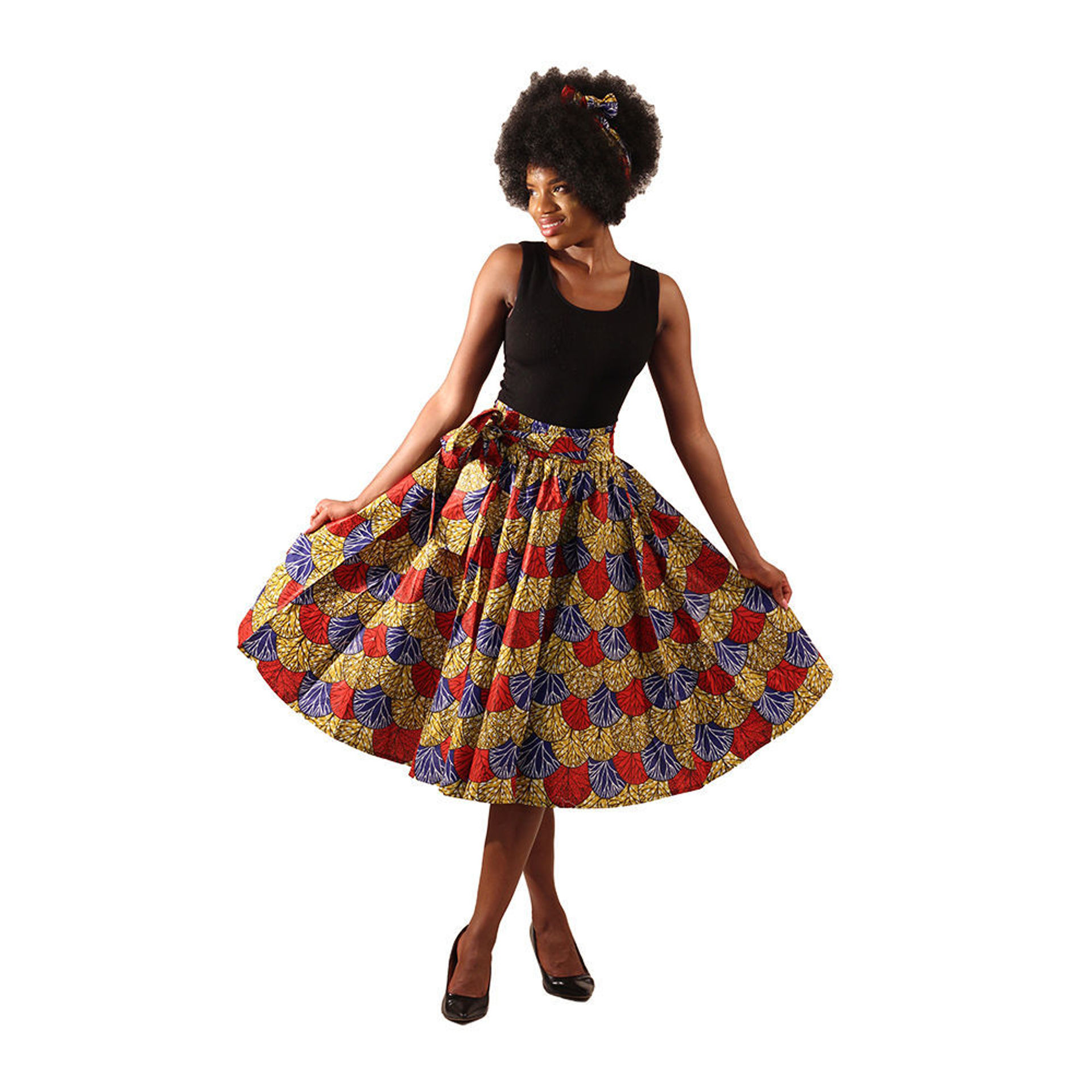 Picture of African Print Skirt