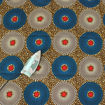 Picture of Blue & White Circle Print Fabric