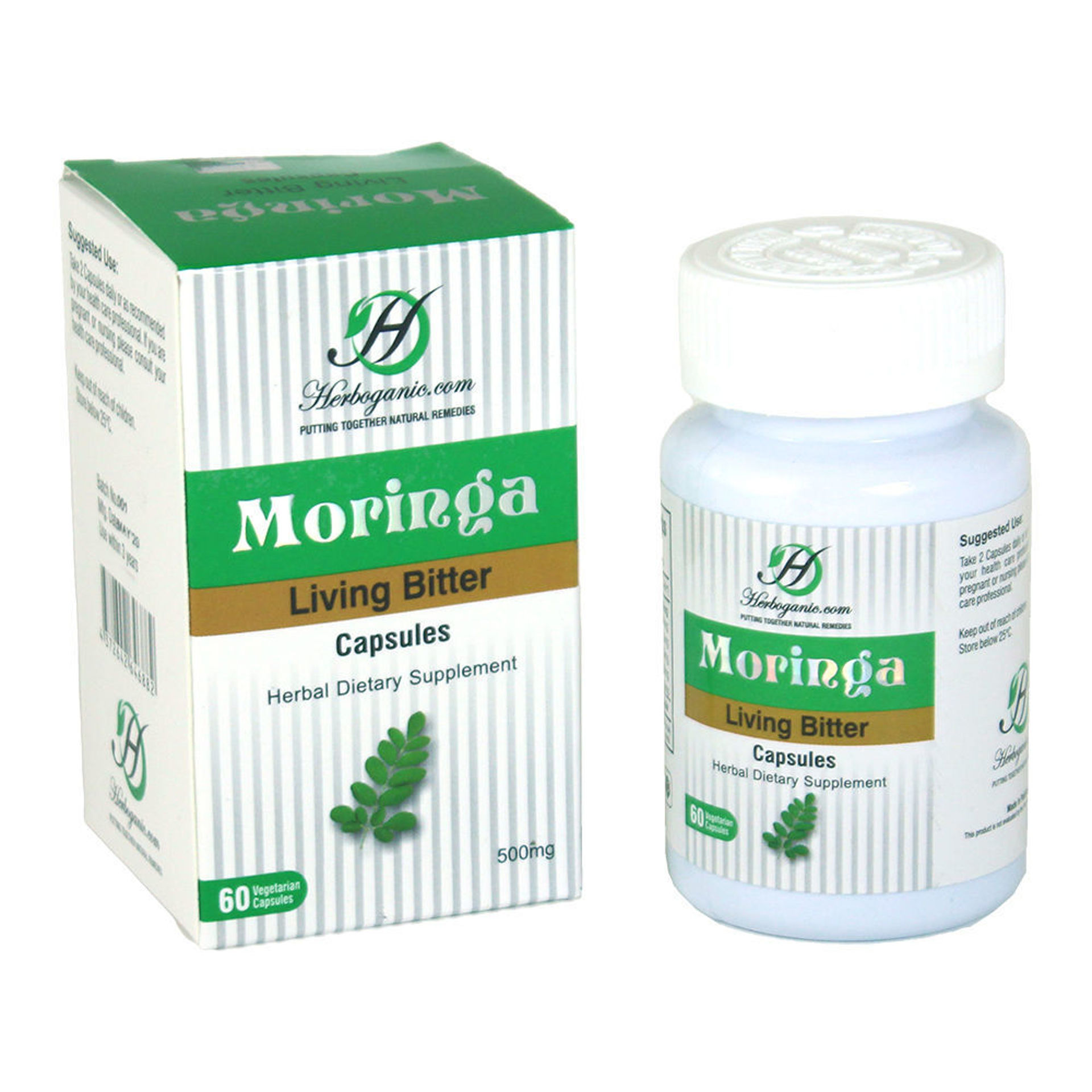 Picture of Moringa Living Bitters Capsules