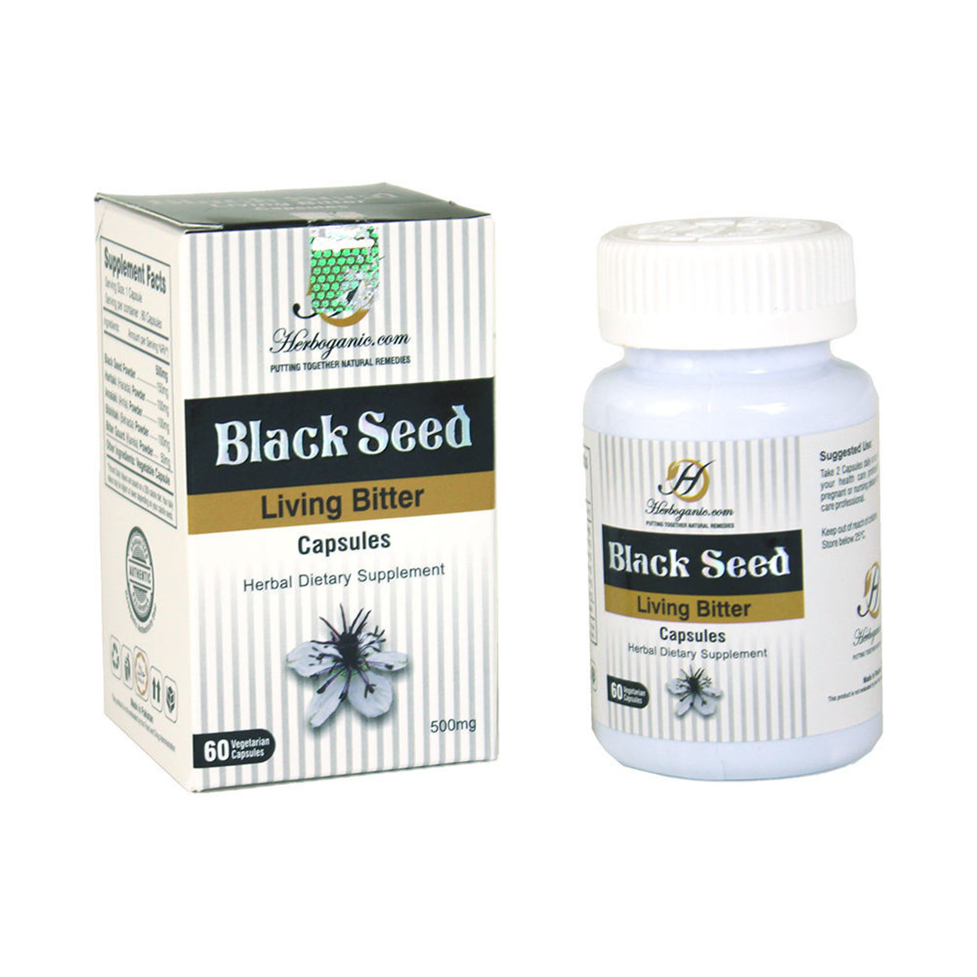 Picture of Black Seed Living Bitters Capsules