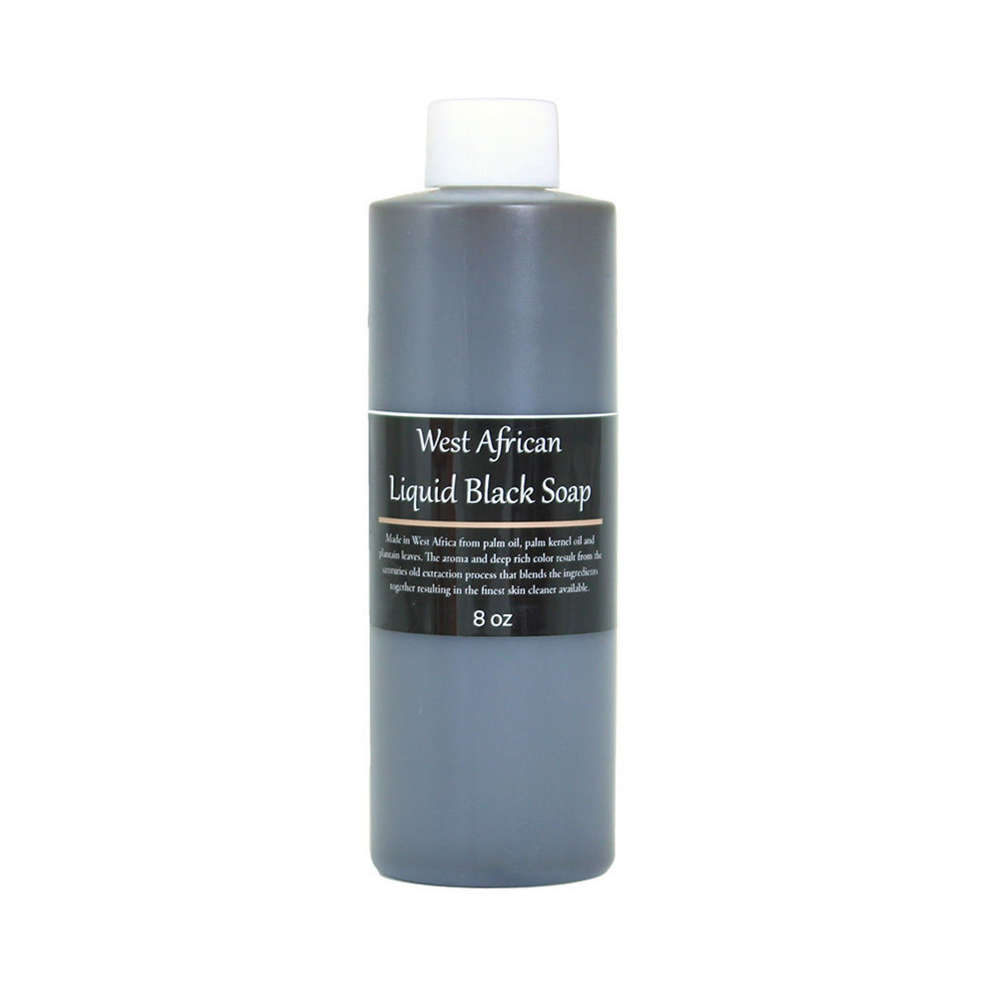 Picture of West African Liquid Black Soap - 8 oz.