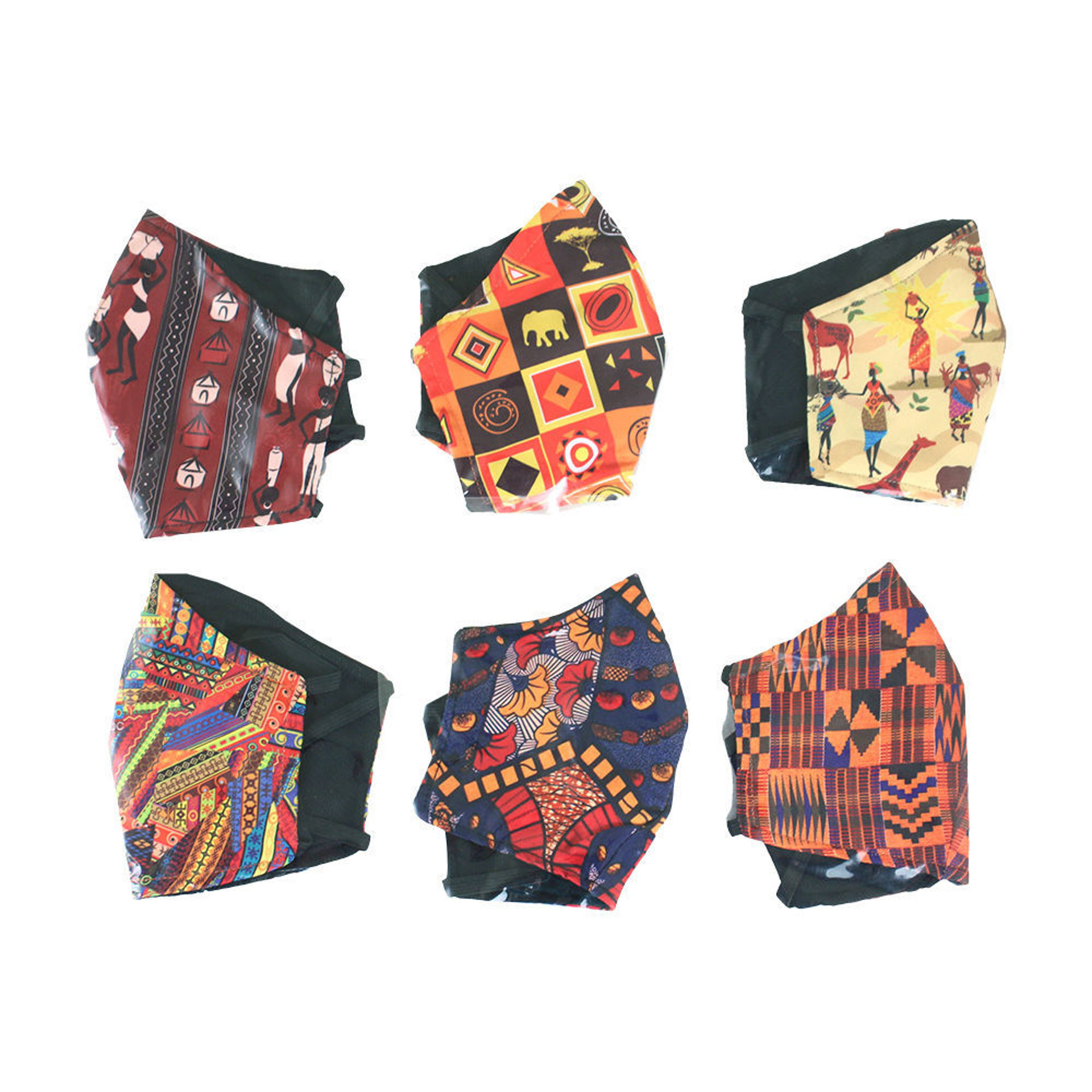 Picture of Set Of 6 ASSORTED Children's Masks