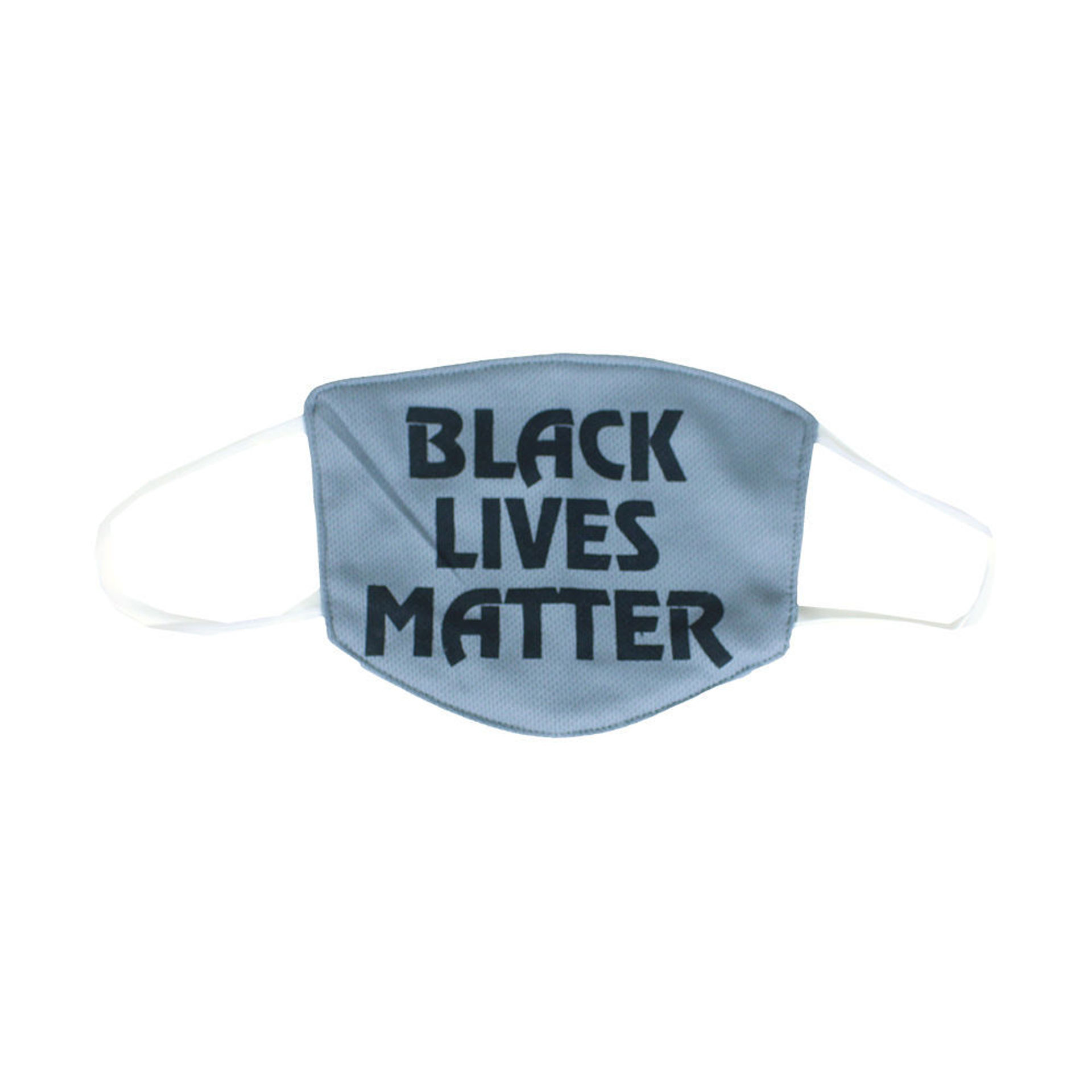 Picture of Black Lives Matter Face Mask: Gray