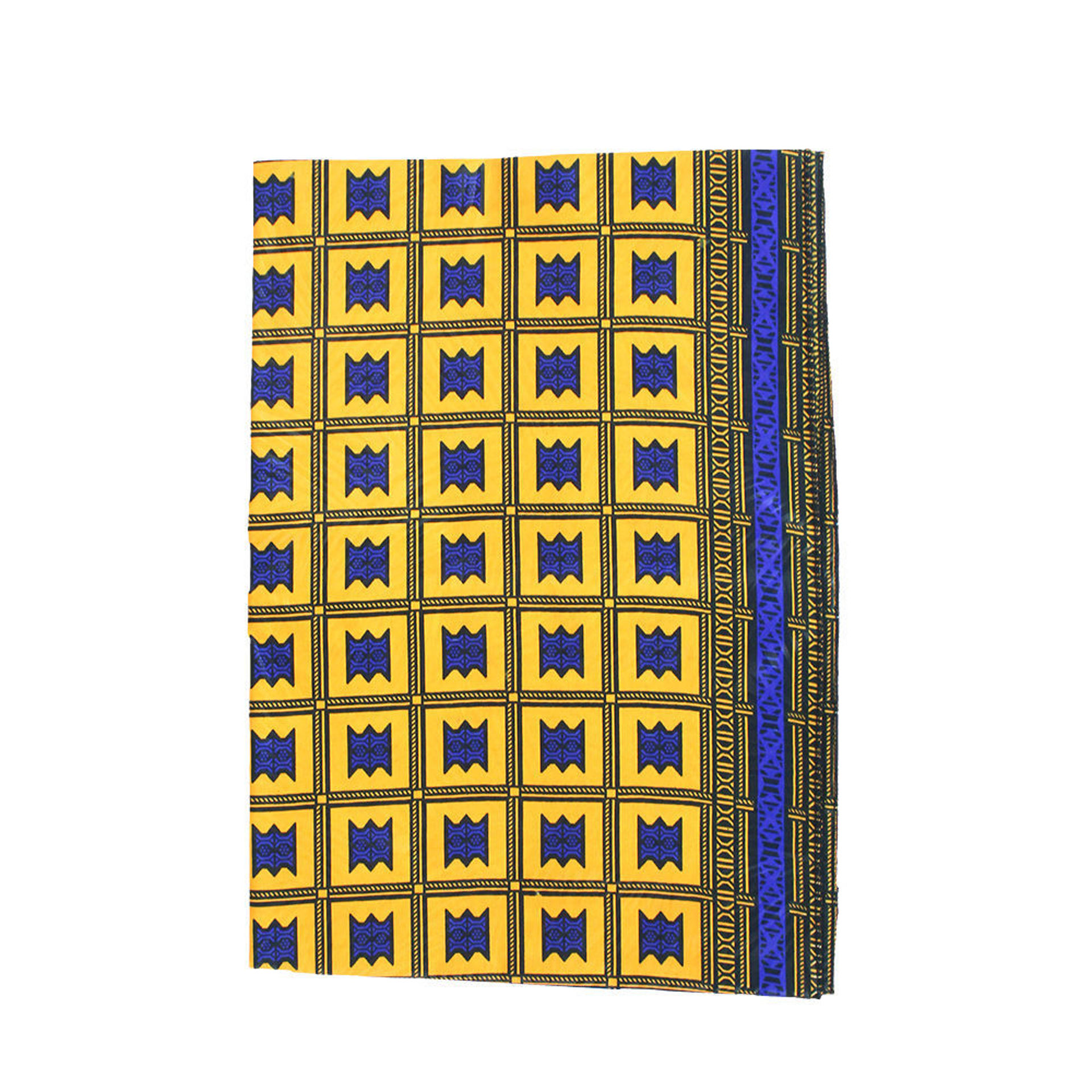 Picture of Set Of 5 Yellow/Blue Headwraps