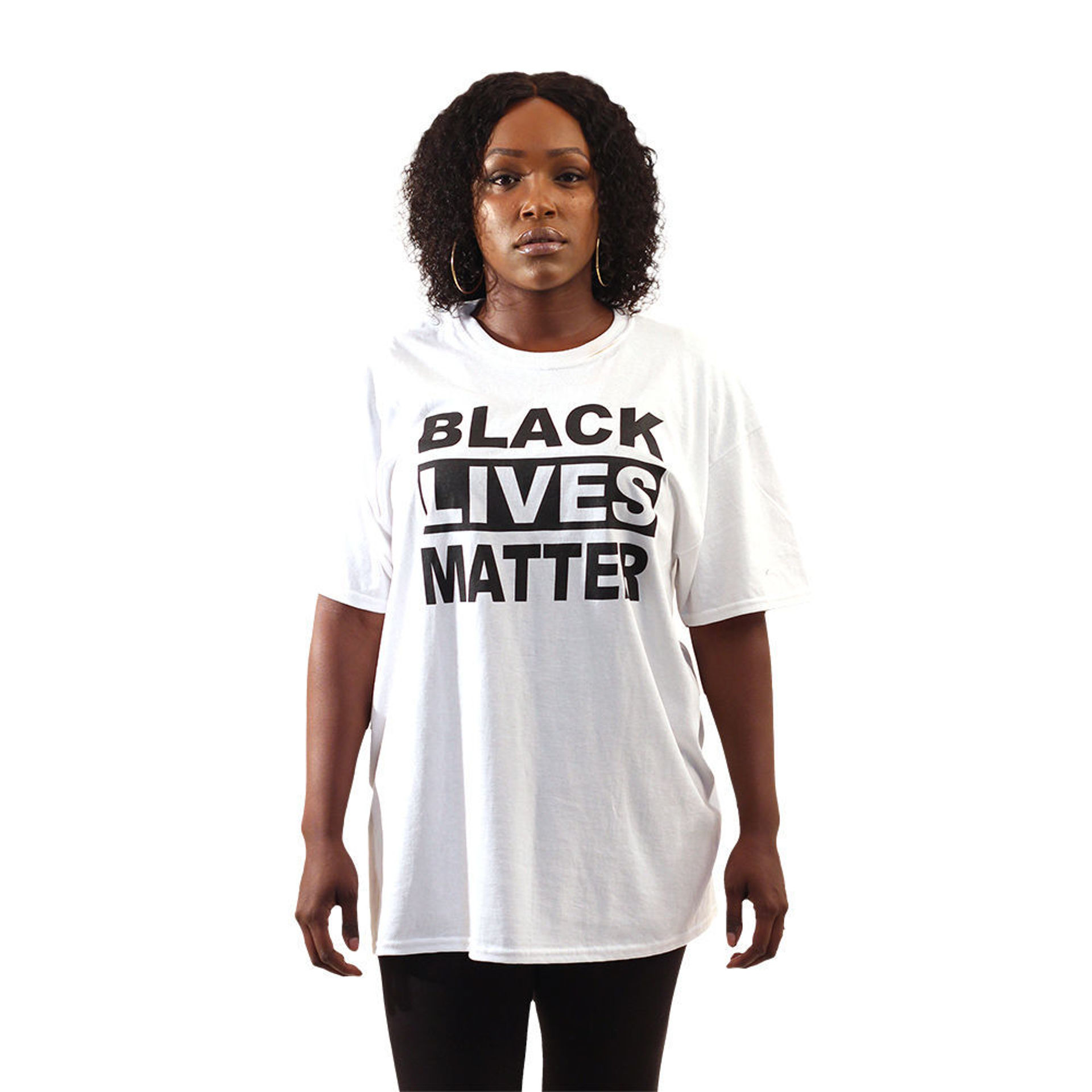 Picture of Black Lives Matter T-Shirt: White