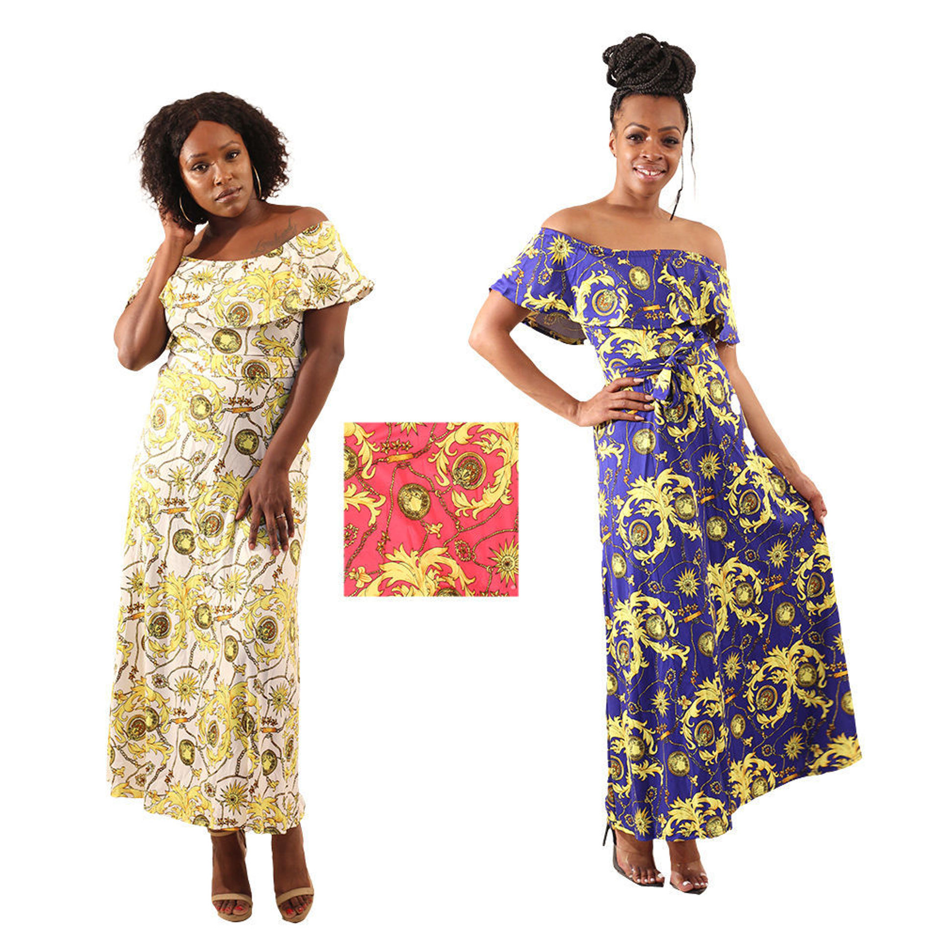 Picture of Set Of 3 Luxury Print Dresses (S-M-L)