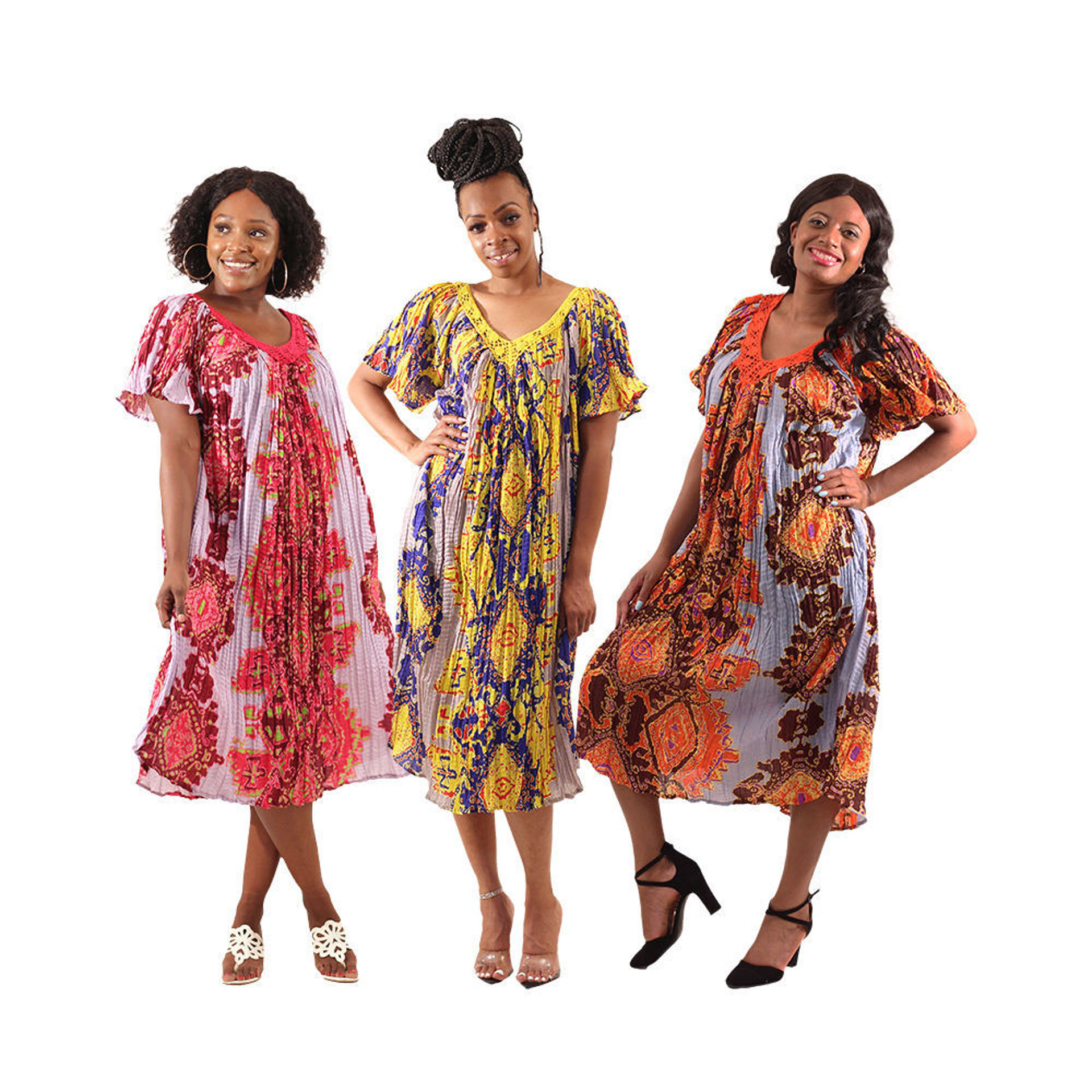 Picture of Set Of 3 ASSORTED Batik Dresses