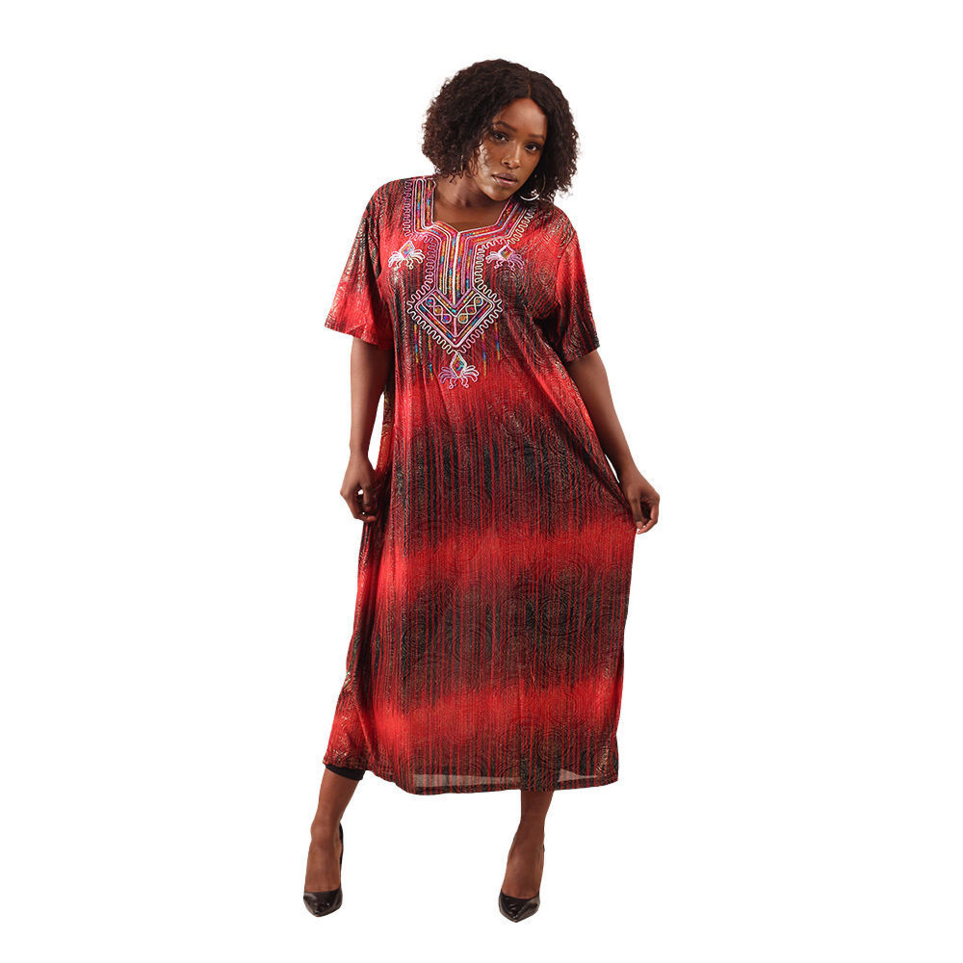 Picture of Royal Red Luxury Dress