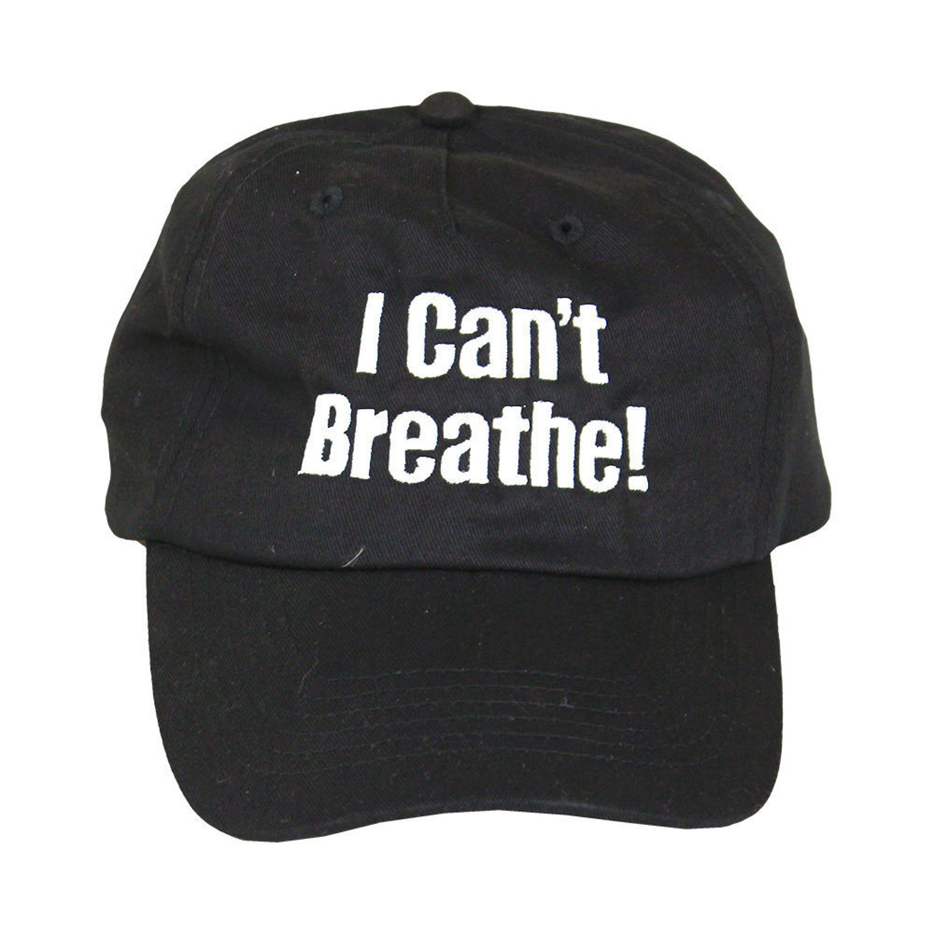 Picture of I Can't Breathe Embroidered Baseball Cap