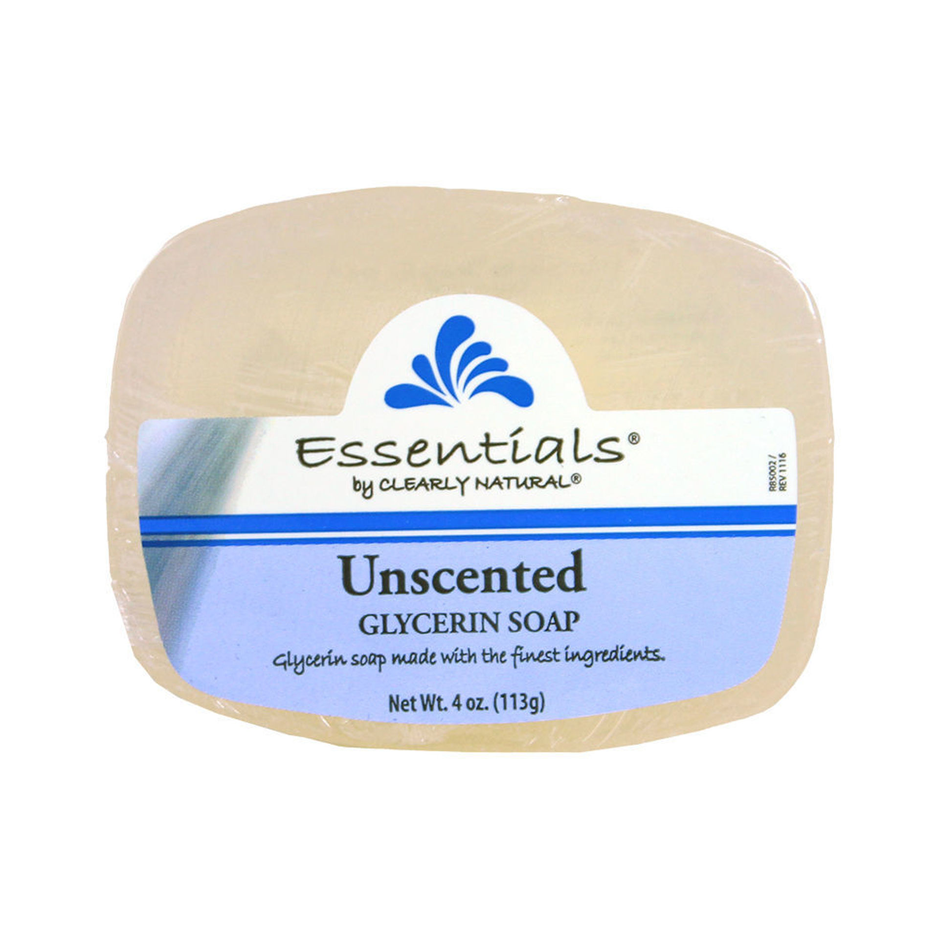 Picture of Clearly Natural Unscented Soap - 4 oz.