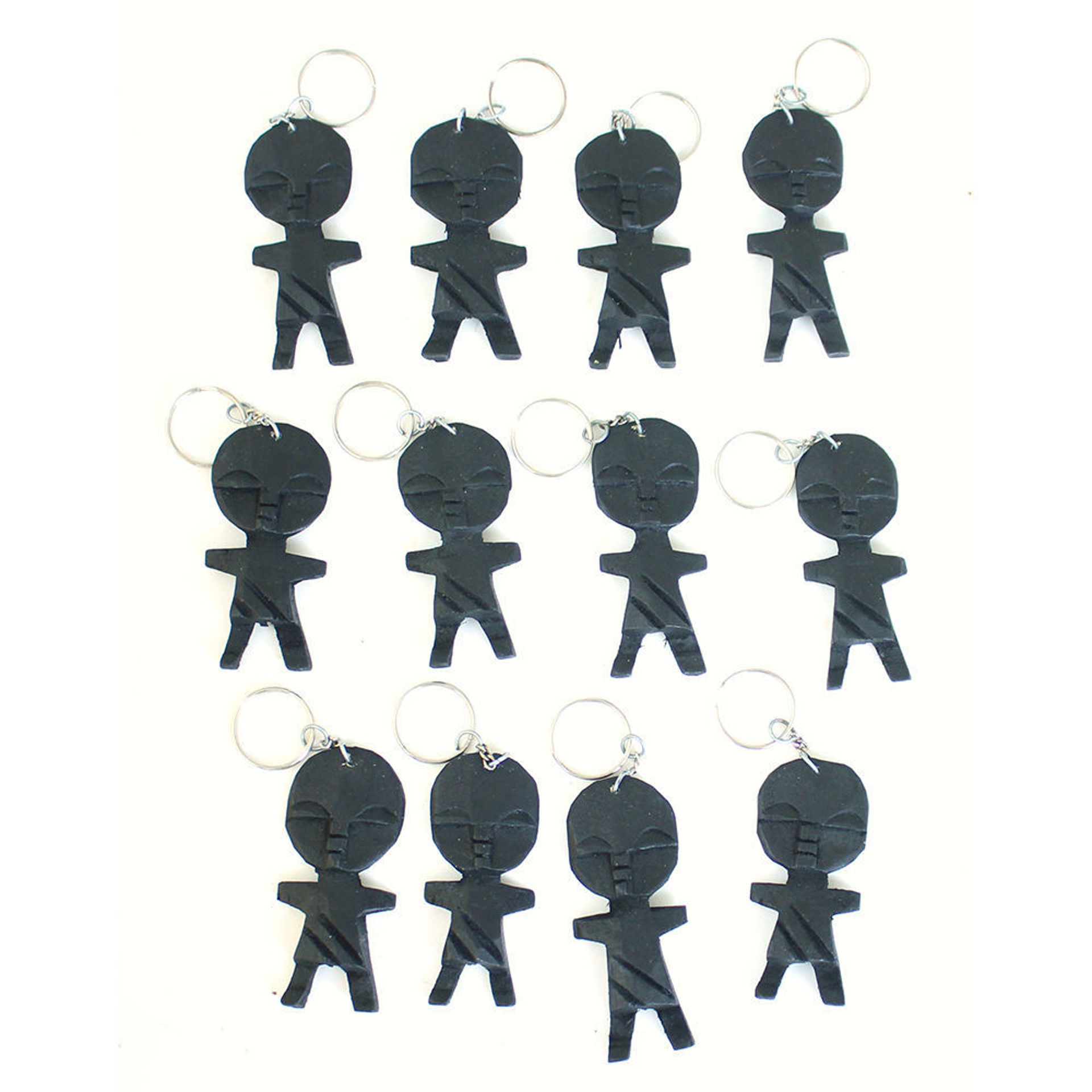 Picture of Set Of 12 Fertility Doll Key Chains