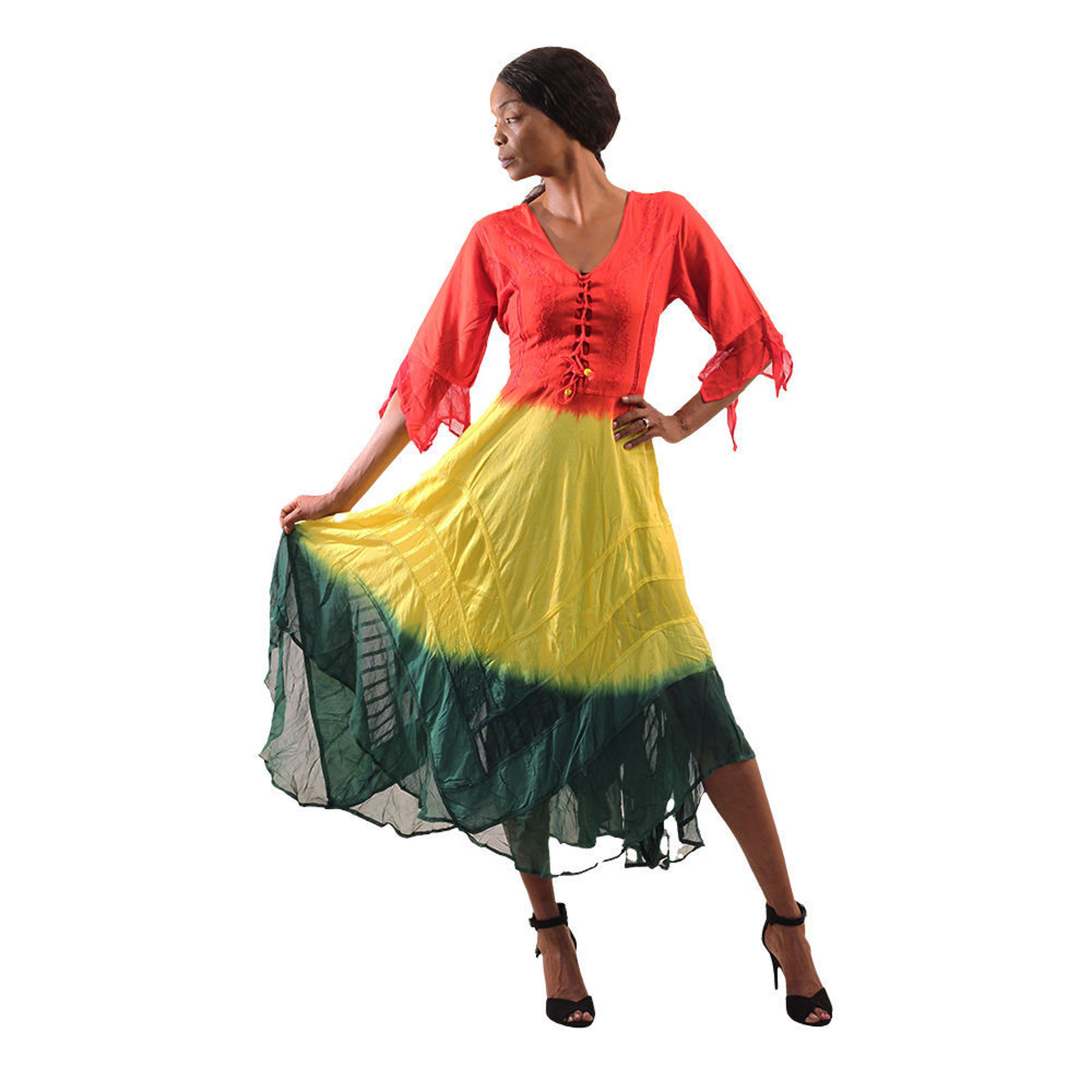 Picture of Rasta Long Dress