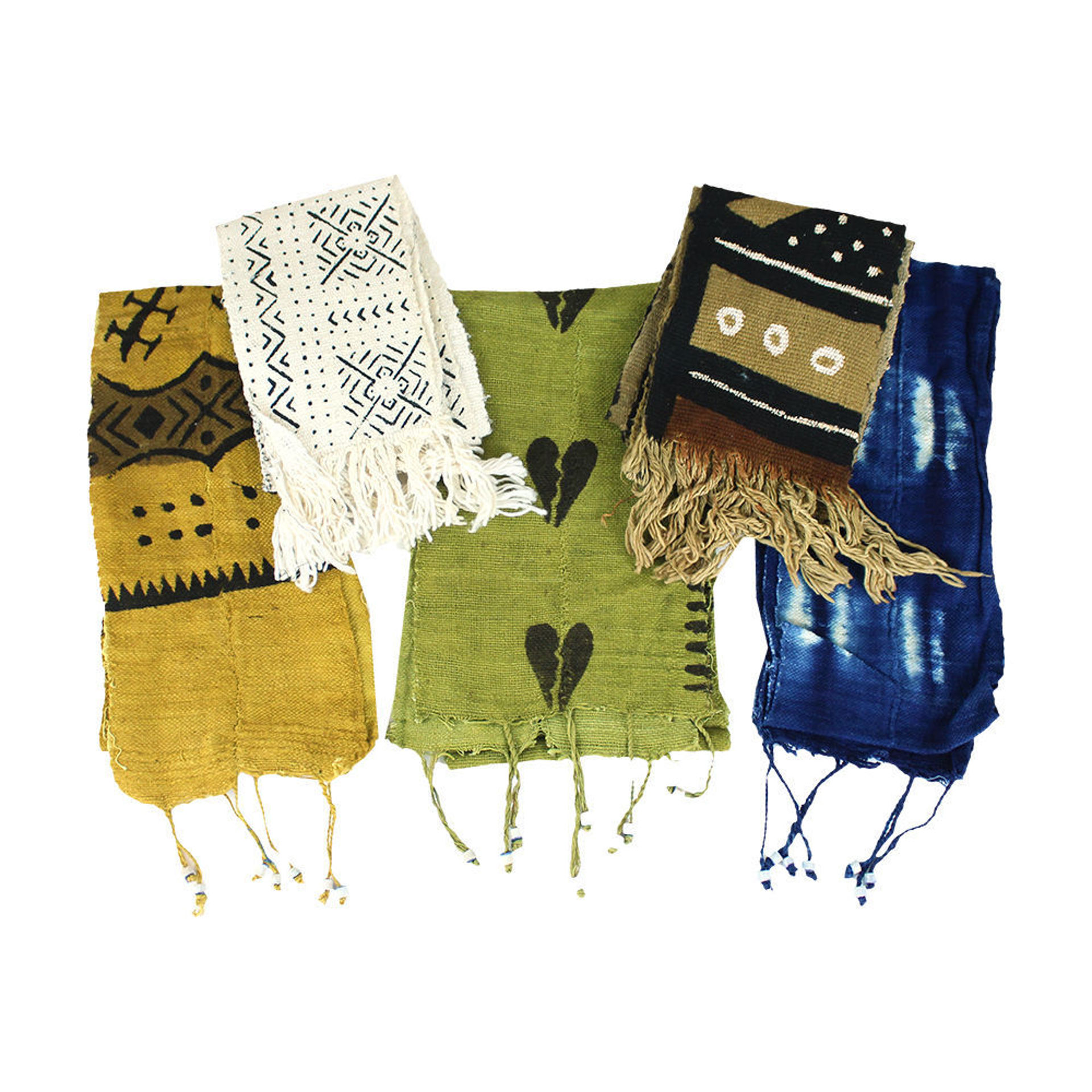 Picture of Mud Cloth Scarf/Sash