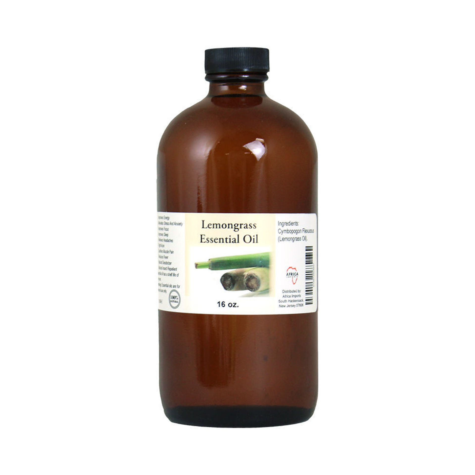 Picture of Lemongrass Essential Oil - 1 Lb.