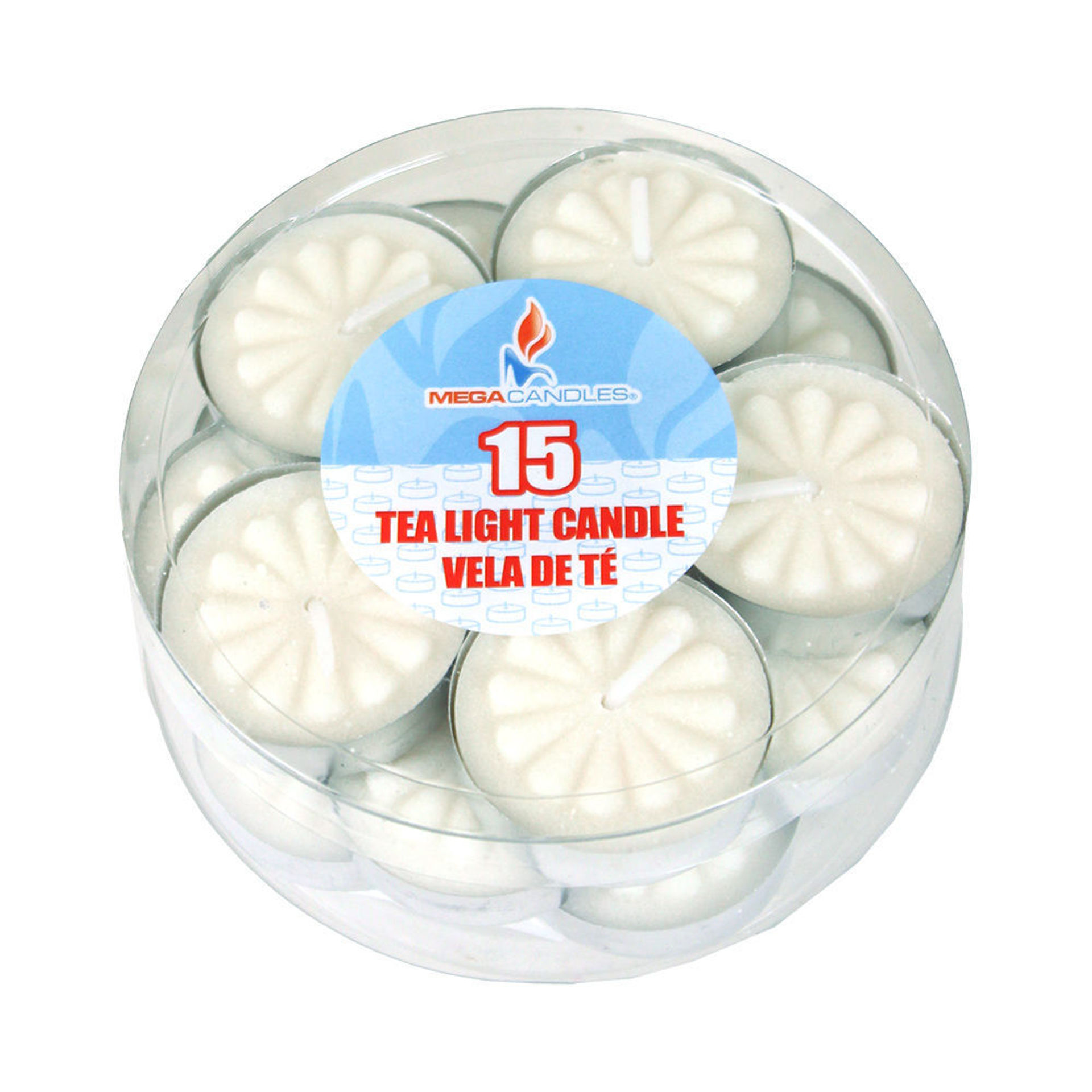 Picture of Tea Light Candles - Unscented 15 pcs.