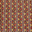 Picture of 4-Color Zig-Zag Mud Print Fabric