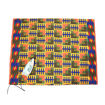 Picture of Blue Comb Kente Fabric