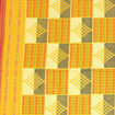 Picture of Yellow Woven Print Fabric
