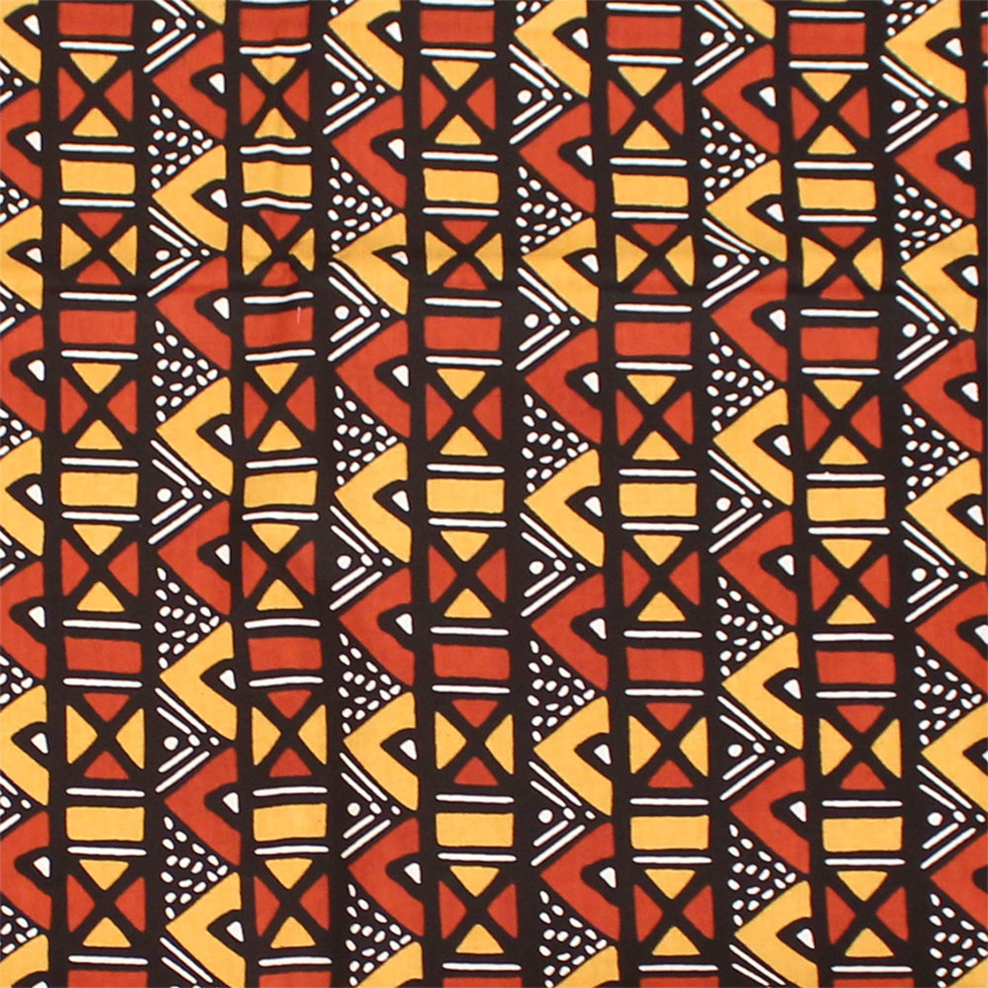 Picture of 4-Color Mud Print Fabric 6 yards