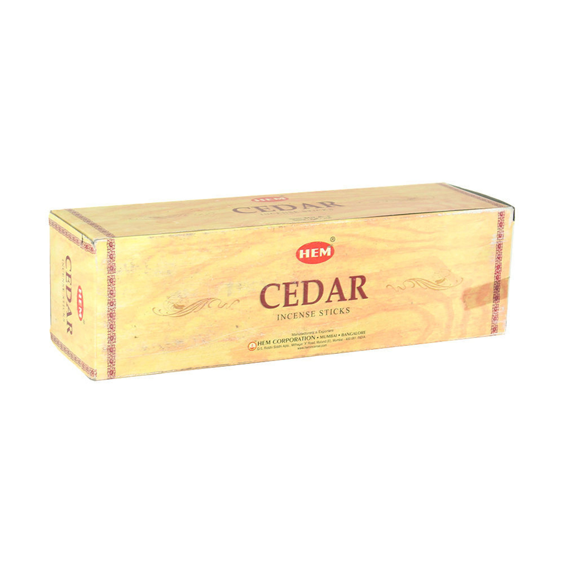 Picture of Cedar Incense: 25 Pack = 200 Sticks