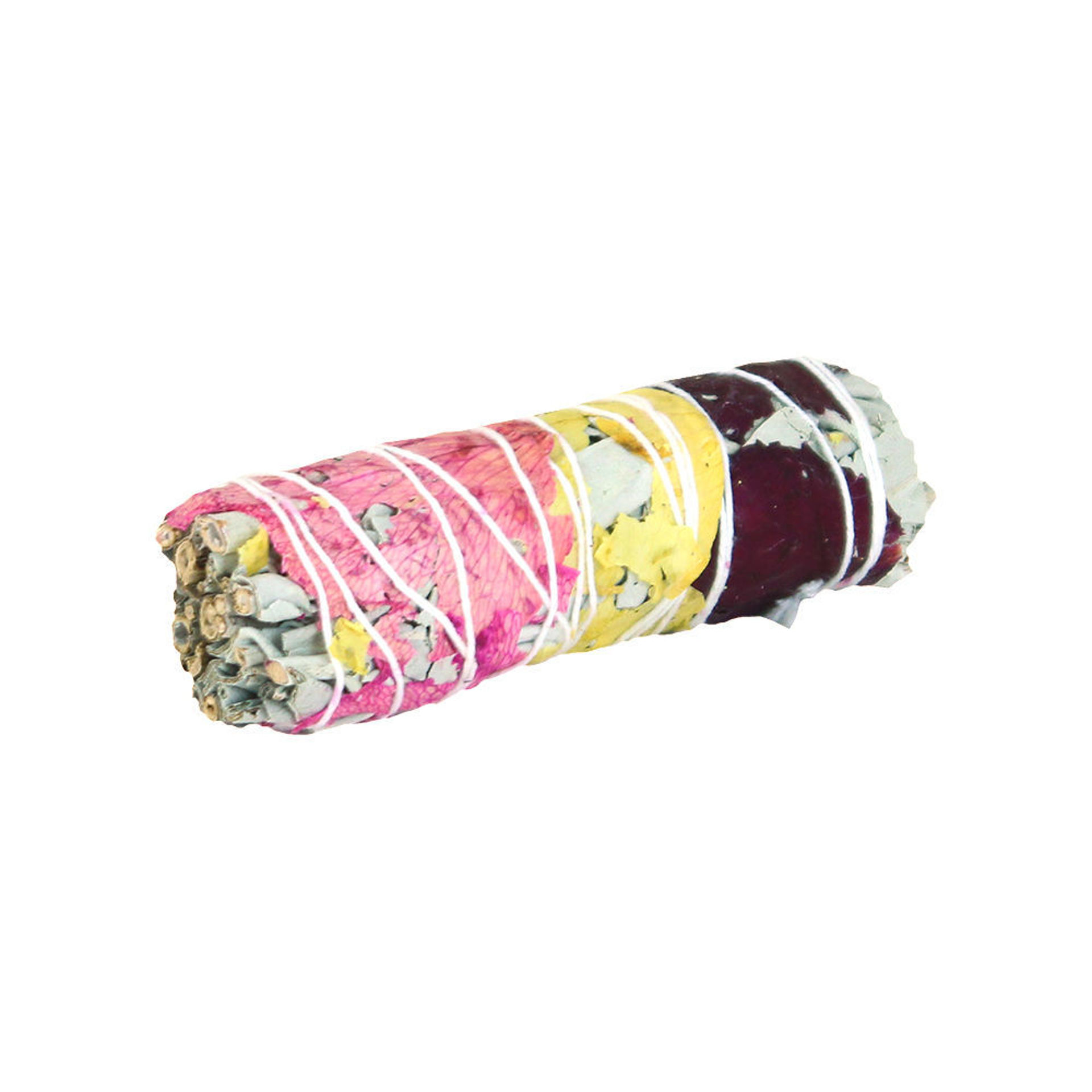 Picture of White Sage & Rose Petals Smudge Stick