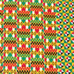 Picture of Hexagon Kente Fabric