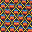 Picture of Bold Kente Fabric: Navy
