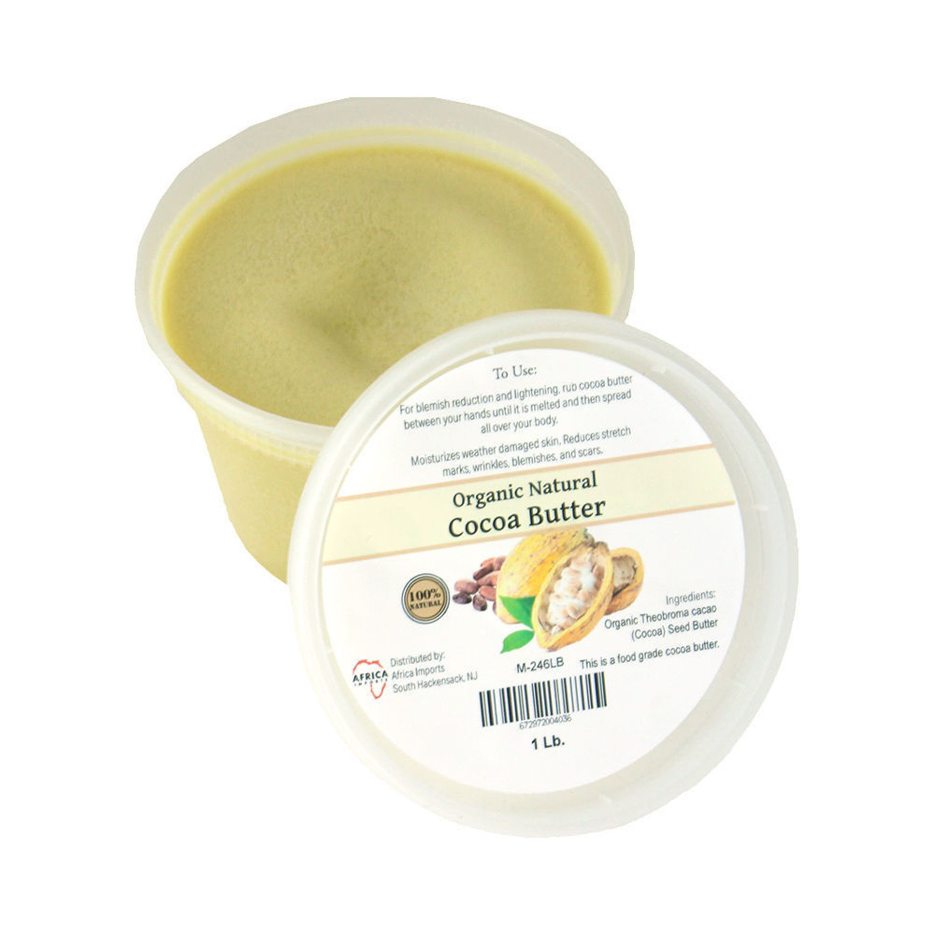 Picture of Organic Cocoa Butter - 14 oz.
