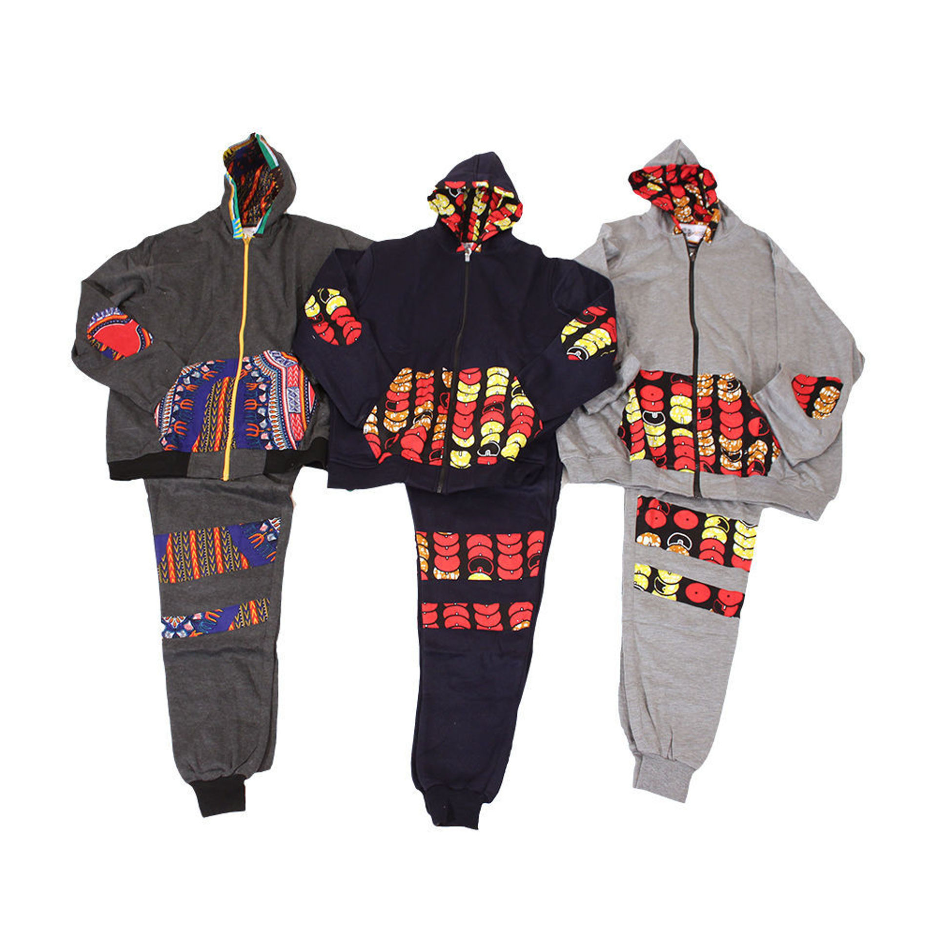 Picture of Set Of 3 ASSORTED Hoodie/Sweatpant Sets