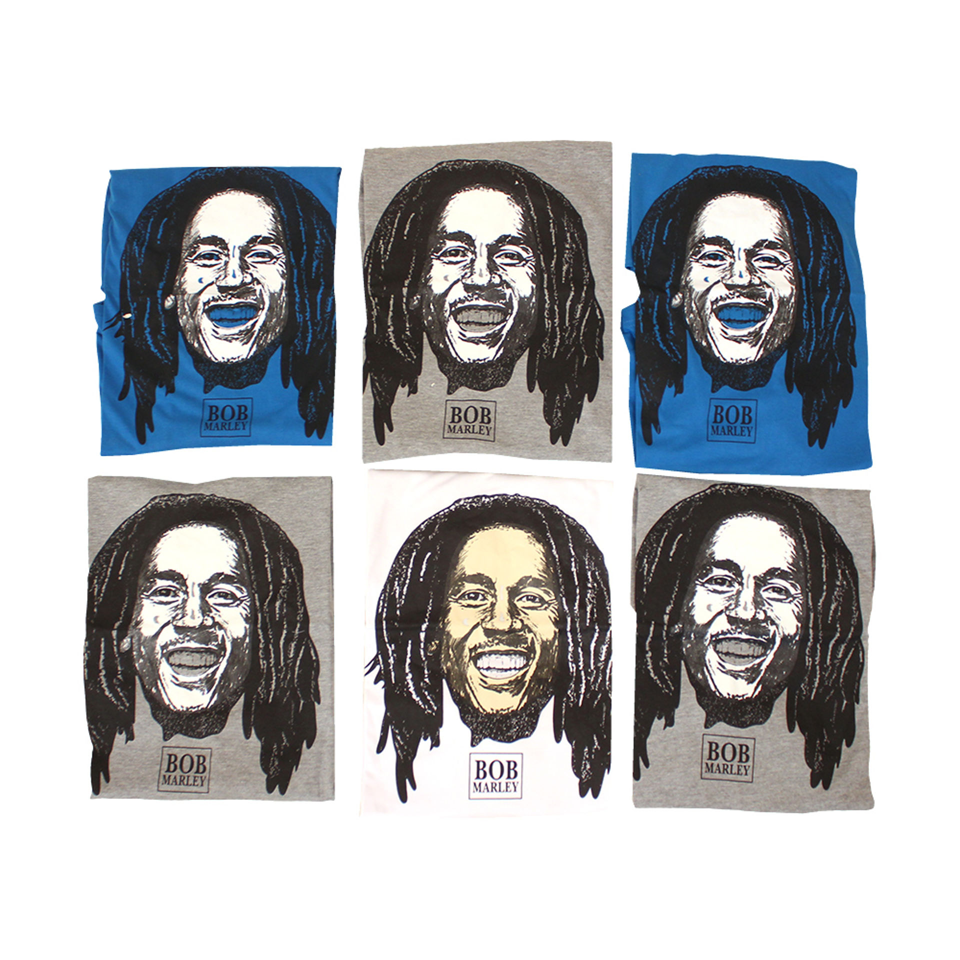 Picture of Set Of 6 ASSORTED Bob Marley LS Shirts