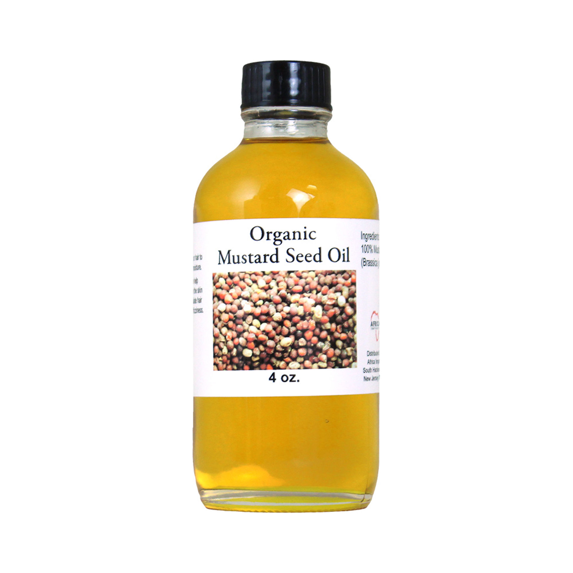 Picture of Organic Mustard Seed Oil - 4 oz.