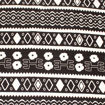 Picture of African Made Premium Fabric: B/W Print