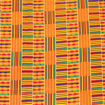 Picture of (T-1309-B) Kente#1W Blk 12 yards